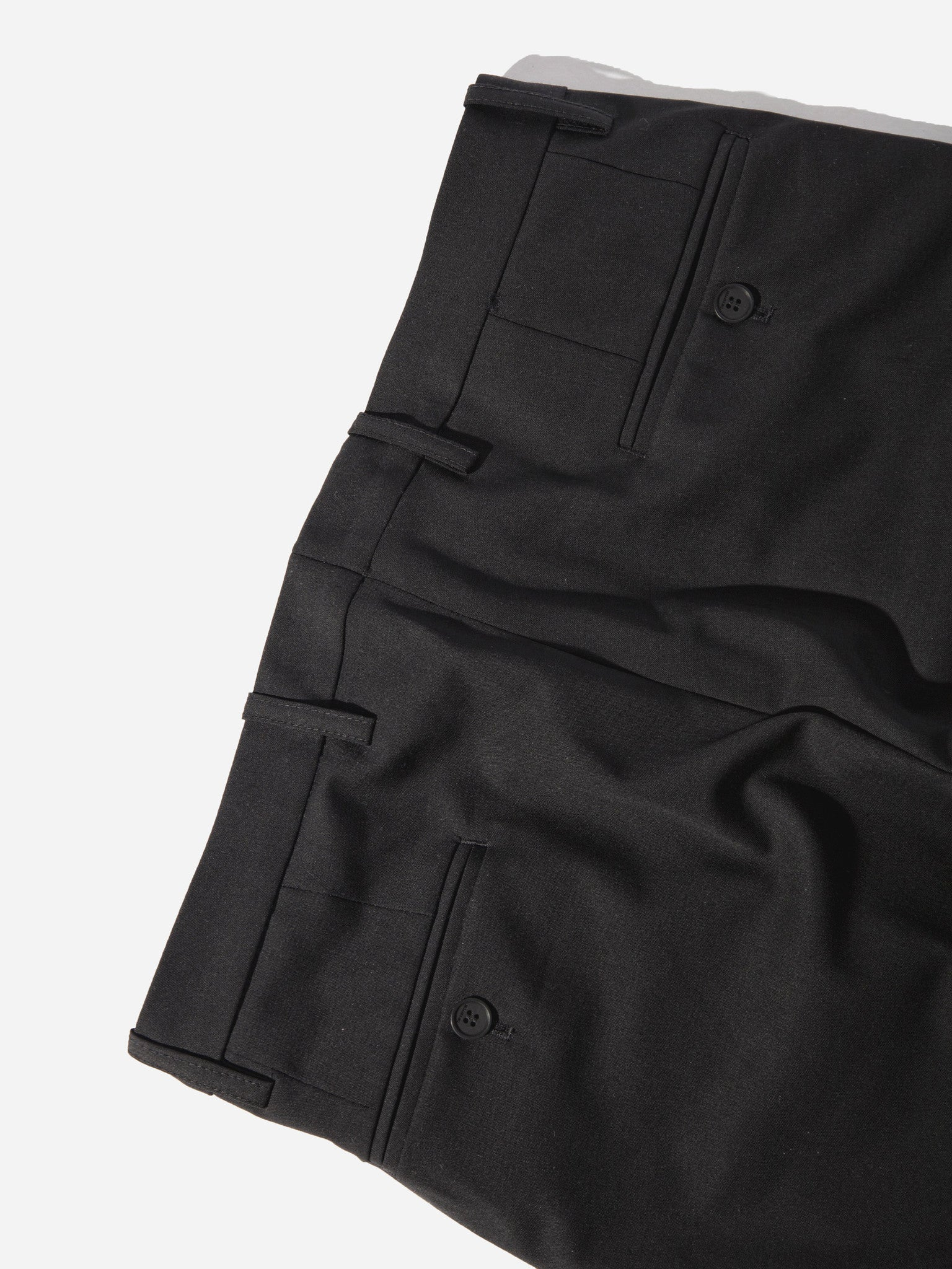 Black Cropped Tailored Trouser 5