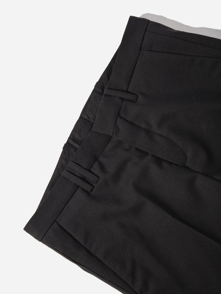 Black Cropped Tailored Trouser 618757717321