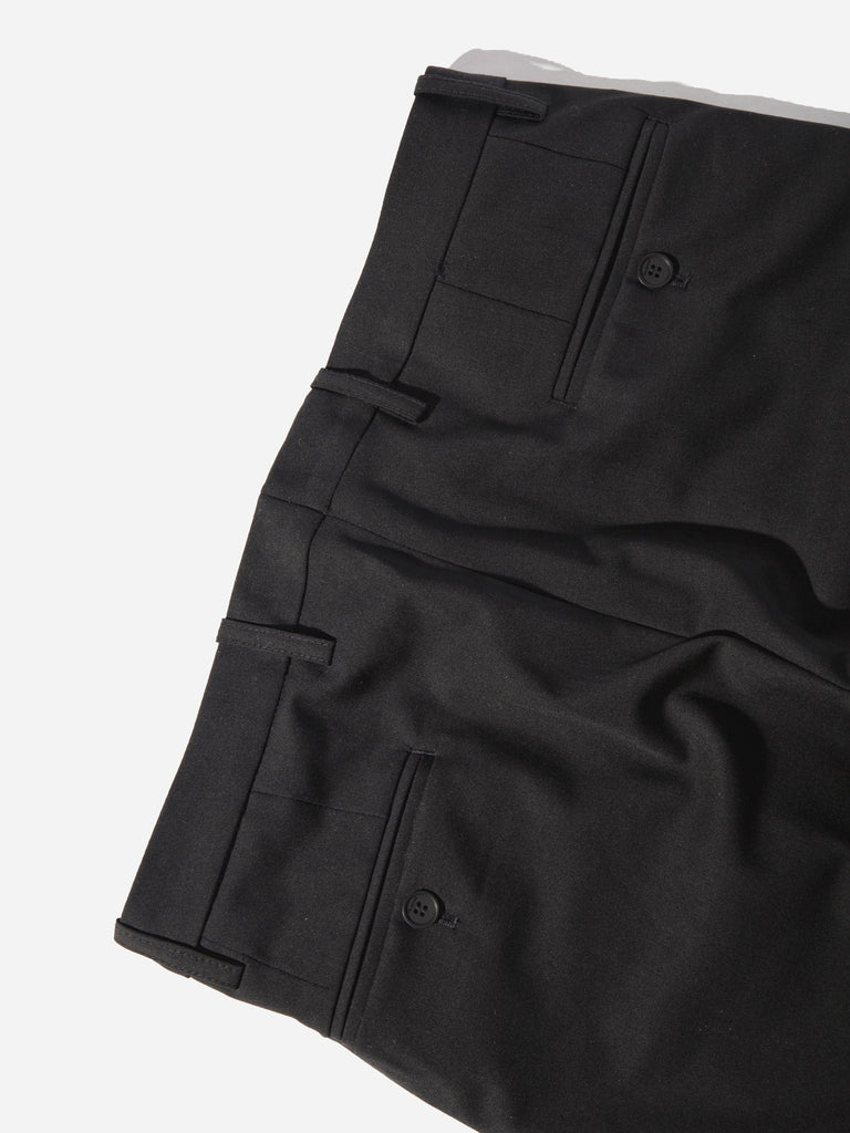 Black Cropped Tailored Trouser 518757707785