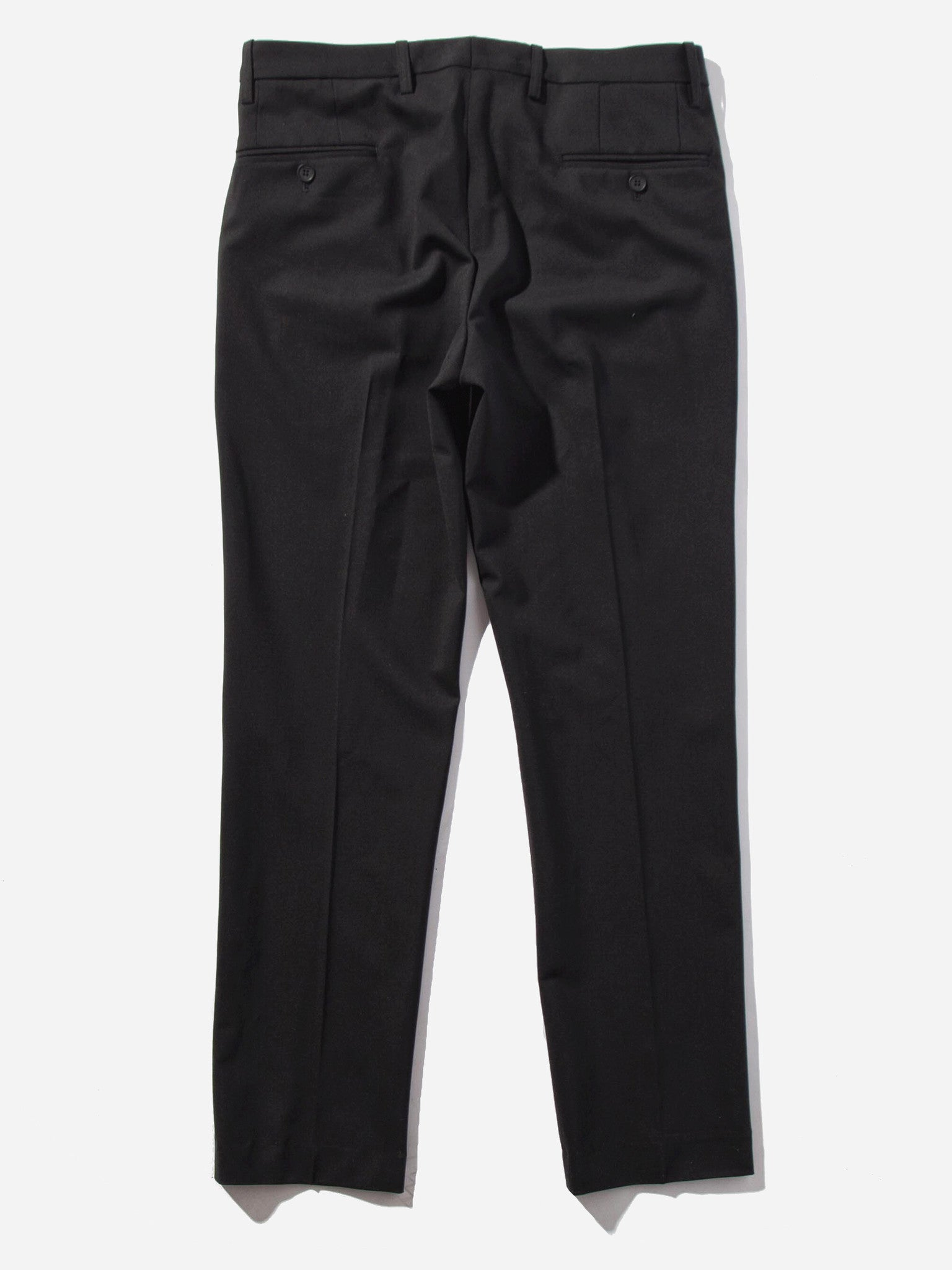 Black Cropped Tailored Trouser 7