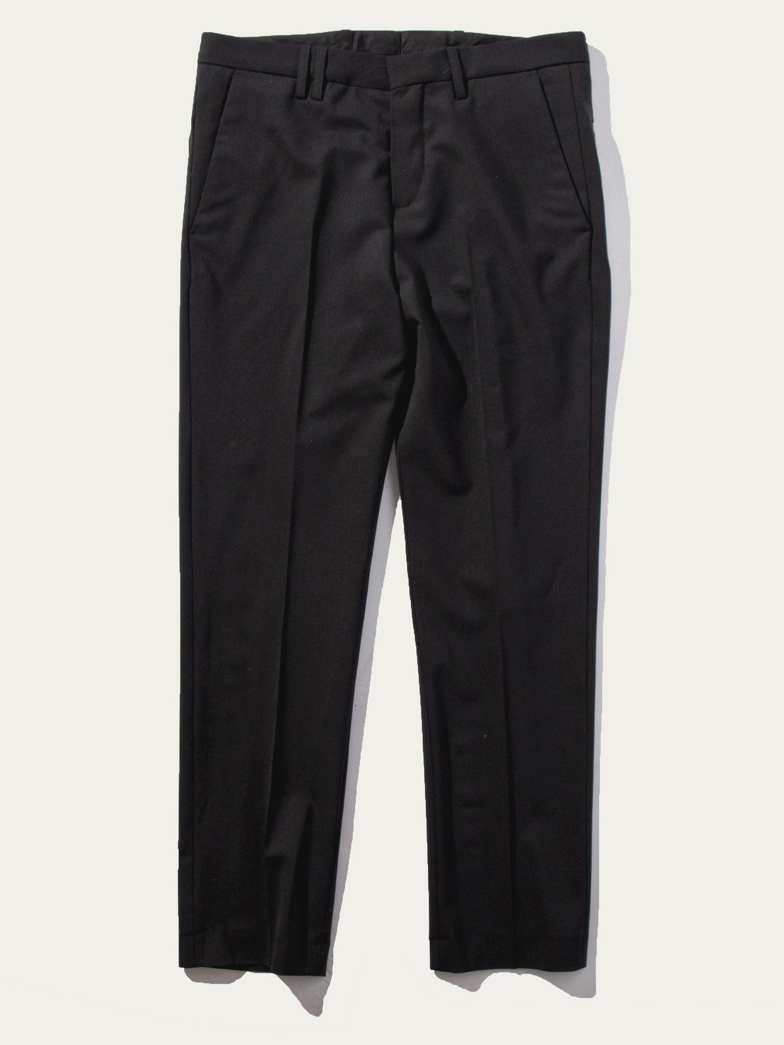 Black Cropped Tailored Trouser 1
