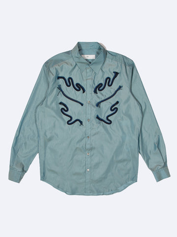 Chambray Taffeta Shirt