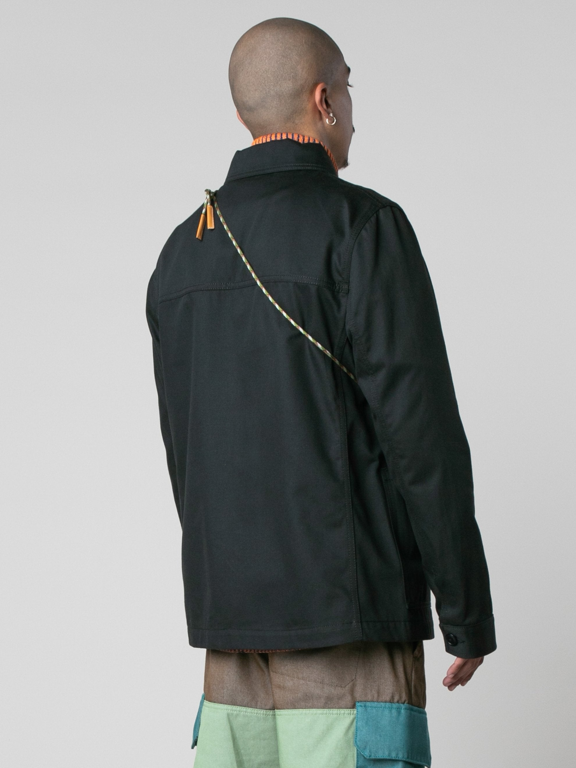 Black ELN Workwear Jacket 5