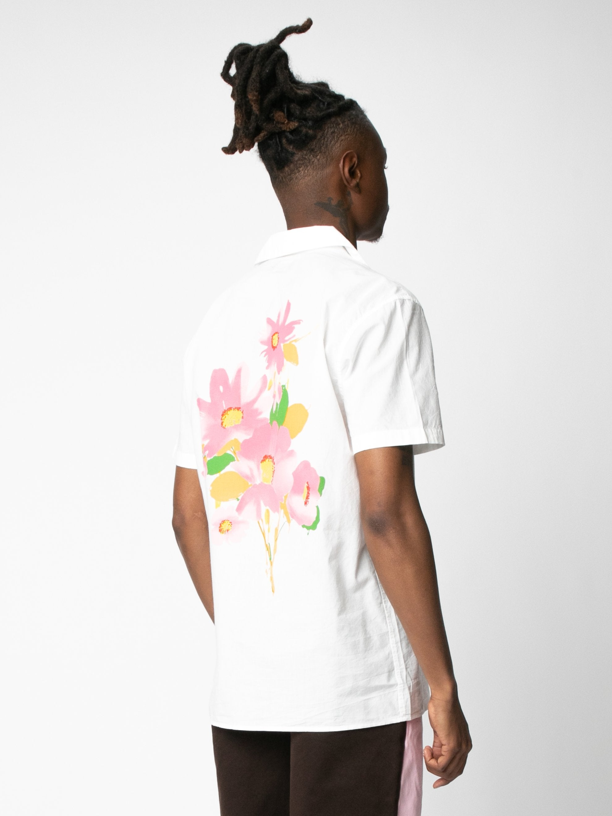 Water Color Floral Shirt