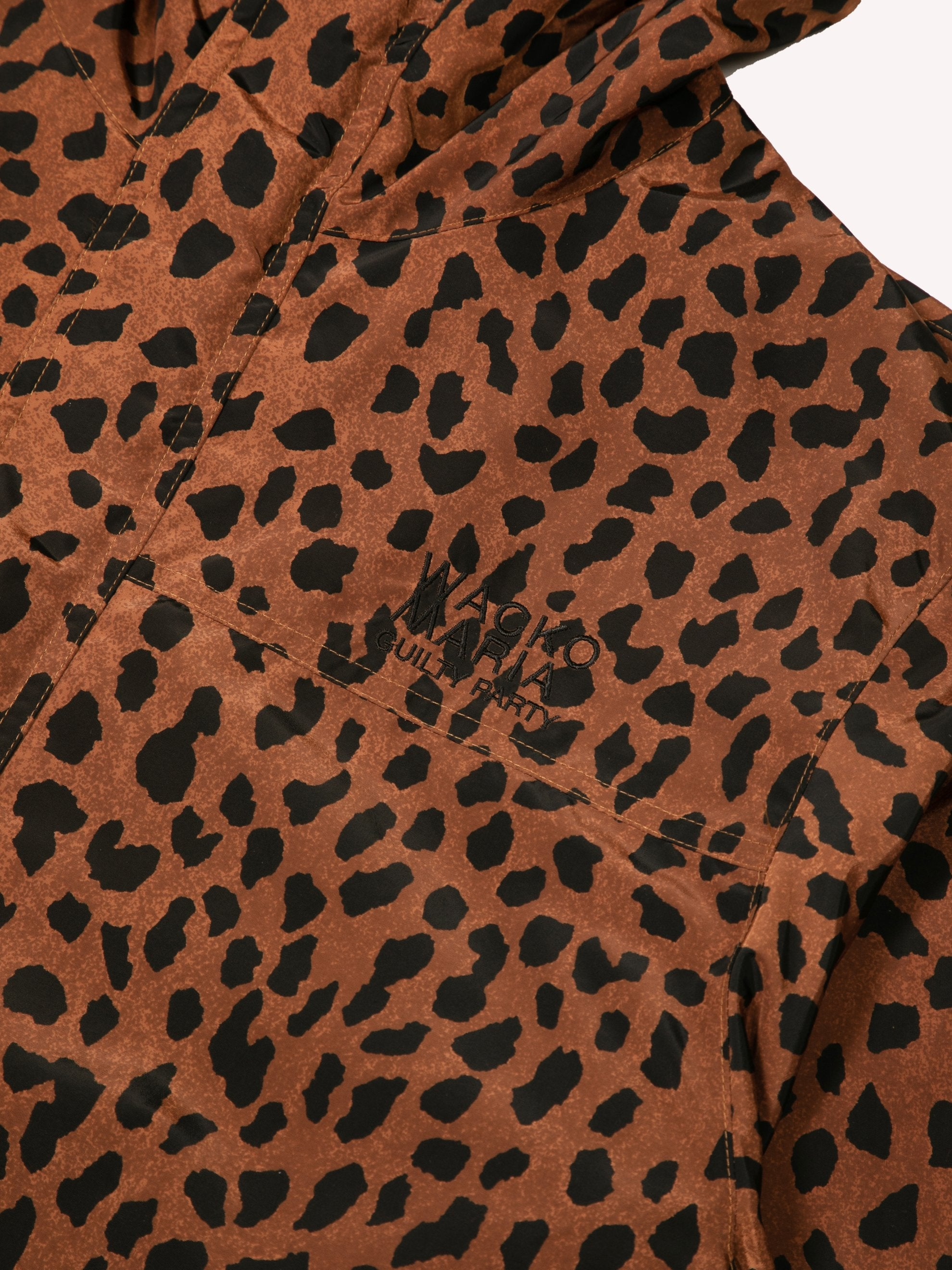 Brown Leopard Mountain Parka 2