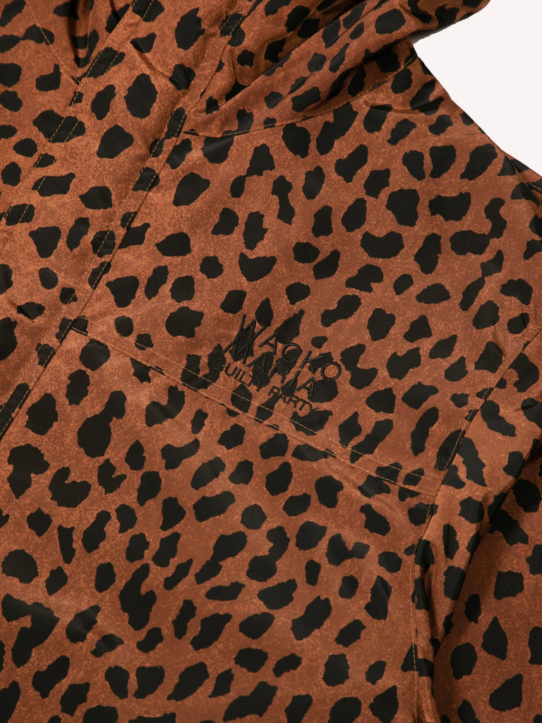 Brown Leopard Mountain Parka 215845350801485