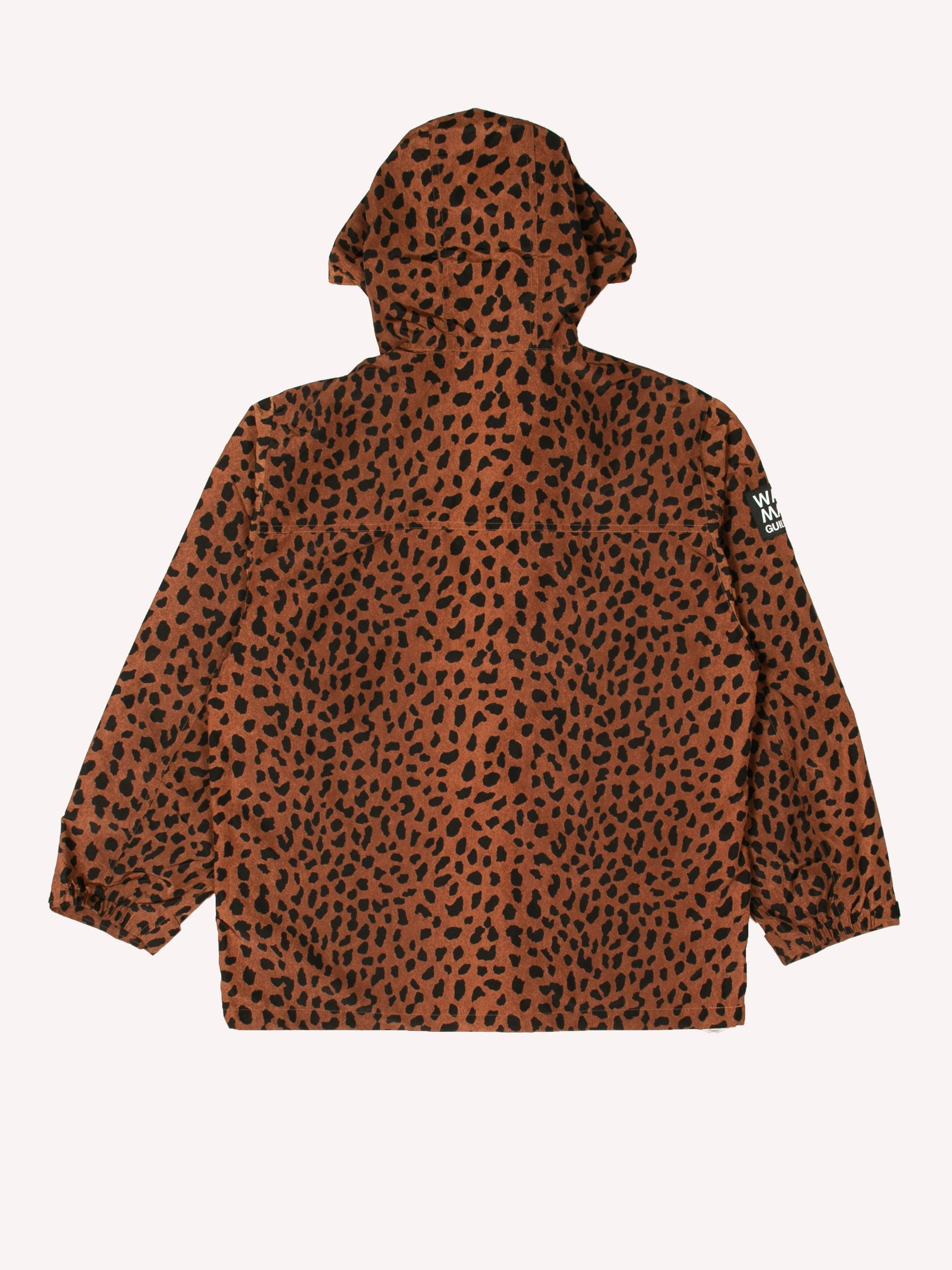 Brown Leopard Mountain Parka 4