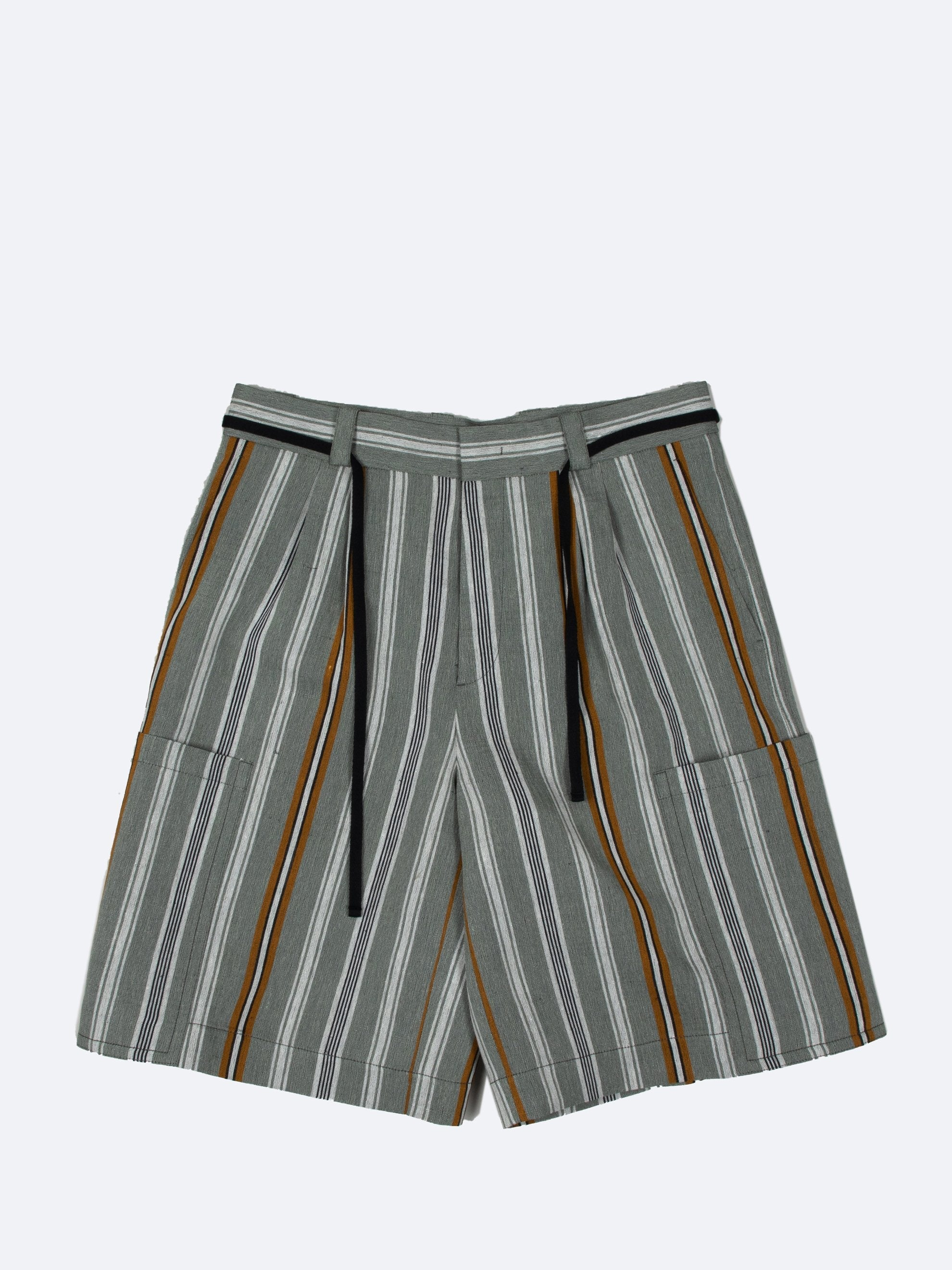 Open Grey Alton Shorts 1