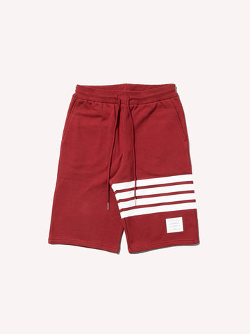 Classic Sweat Shorts With Engineered 4 Bar Stripes