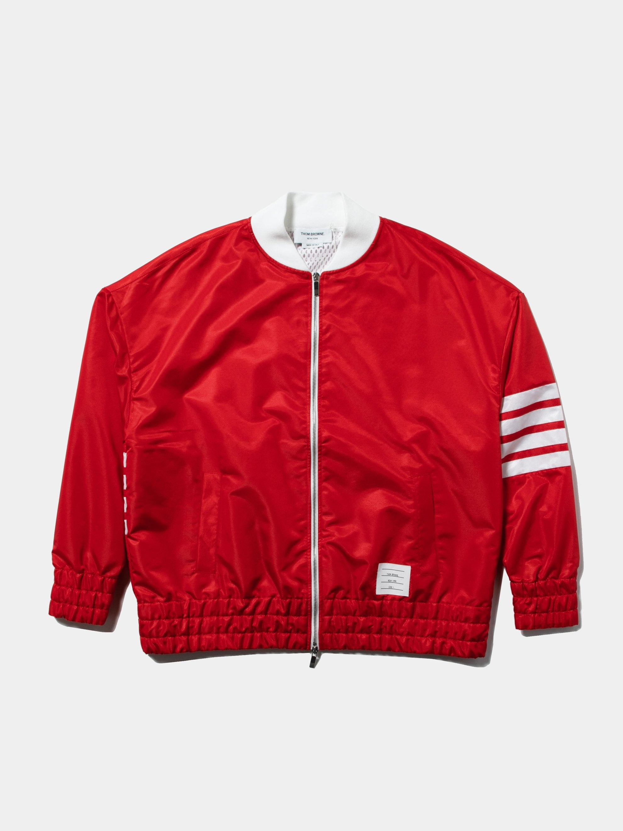 Oversized Bomber (Ripstop/Seamed 4 Bar Stripe)