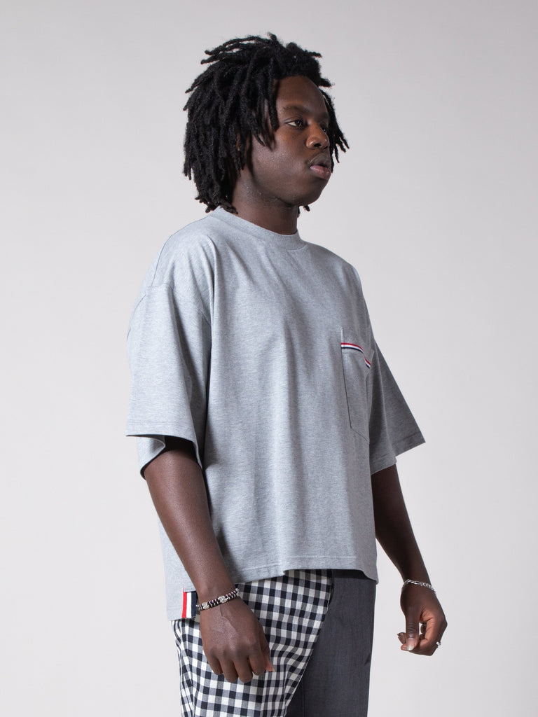 Oversized S/S Pocket Tee