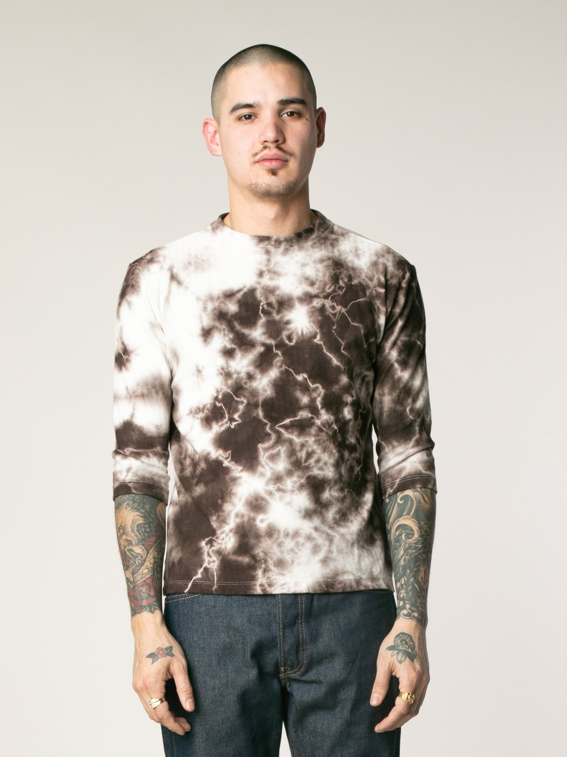 Coffee Tye-Dye Top 2
