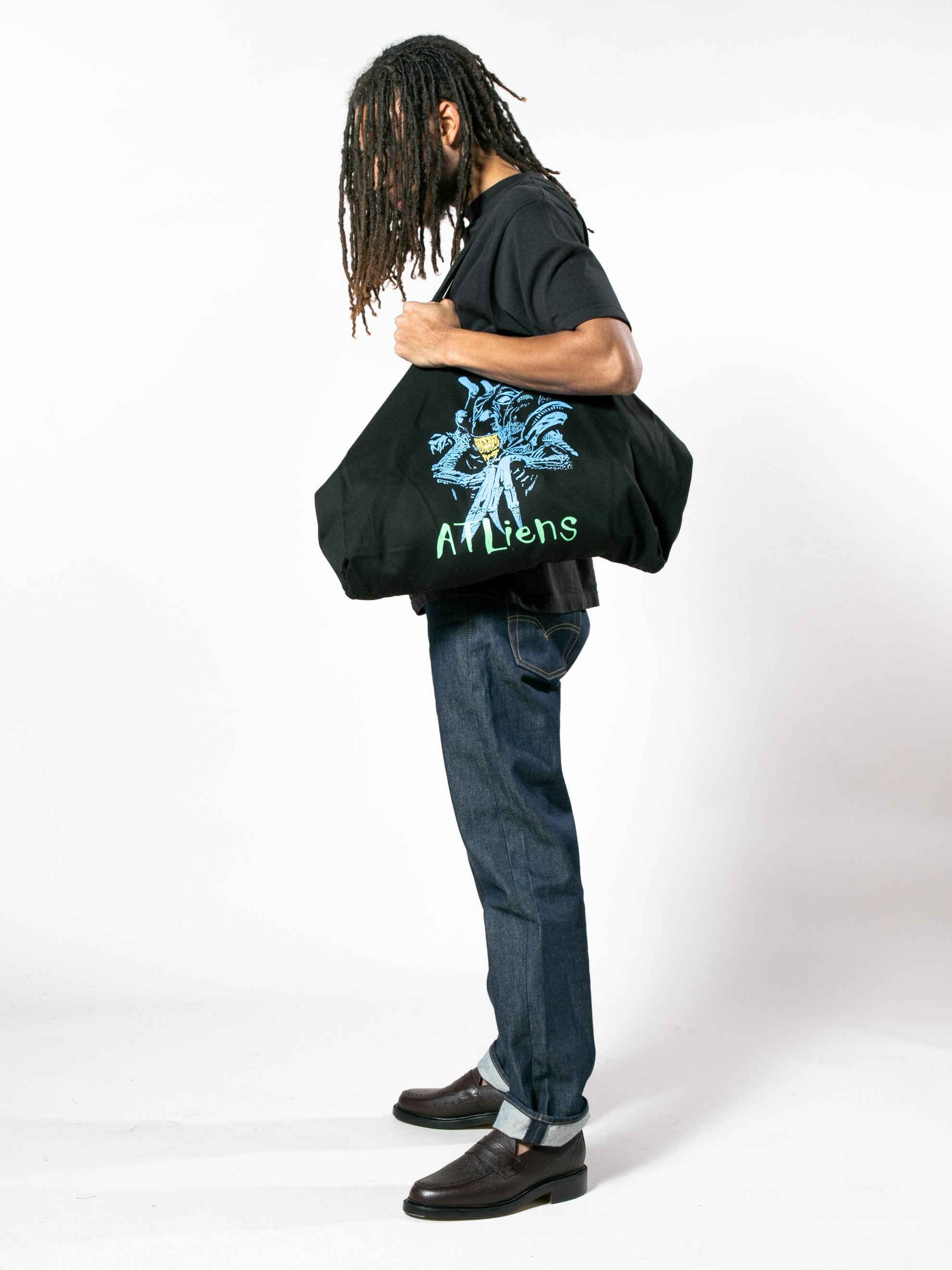 ATLiens Oversized Tote Bag