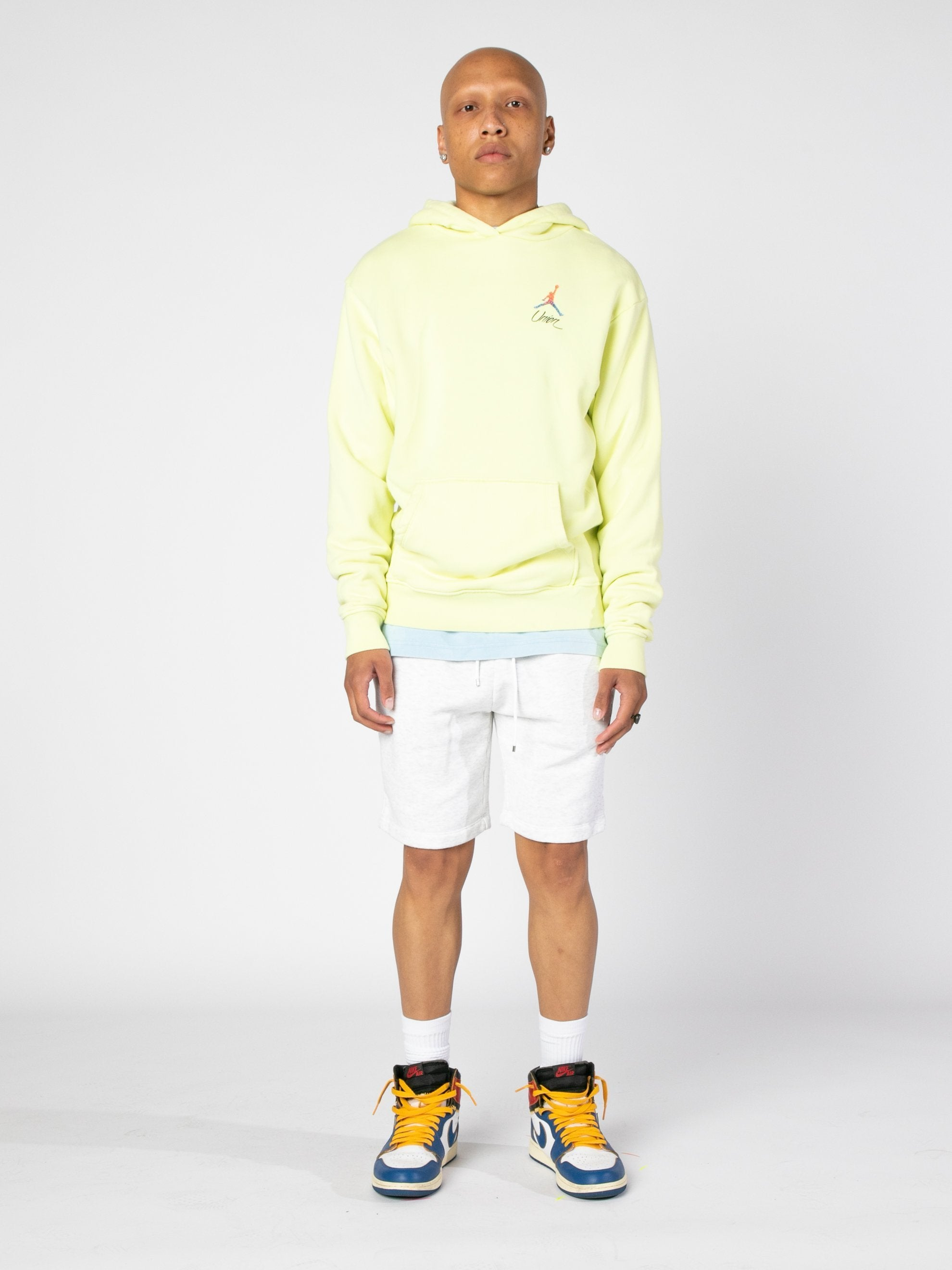Luminous Green (Pale Yellow) Jordan x Union 2.0 PO Hoody 3