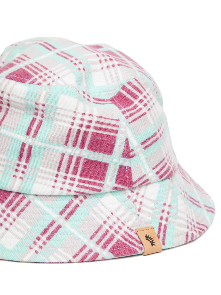 Dome Bucket Hat (Printed Check)