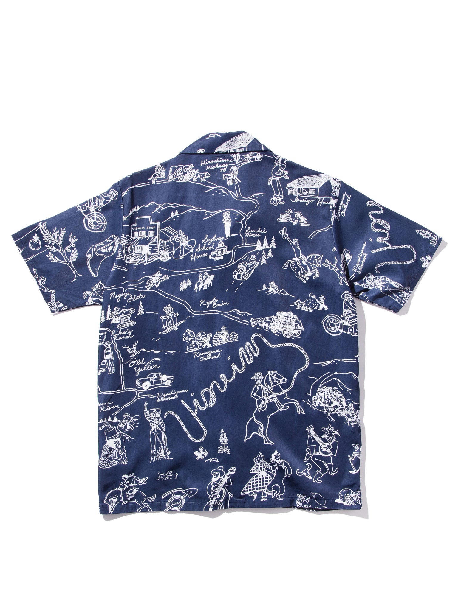Duke Shirt S/S Village (Rayon)