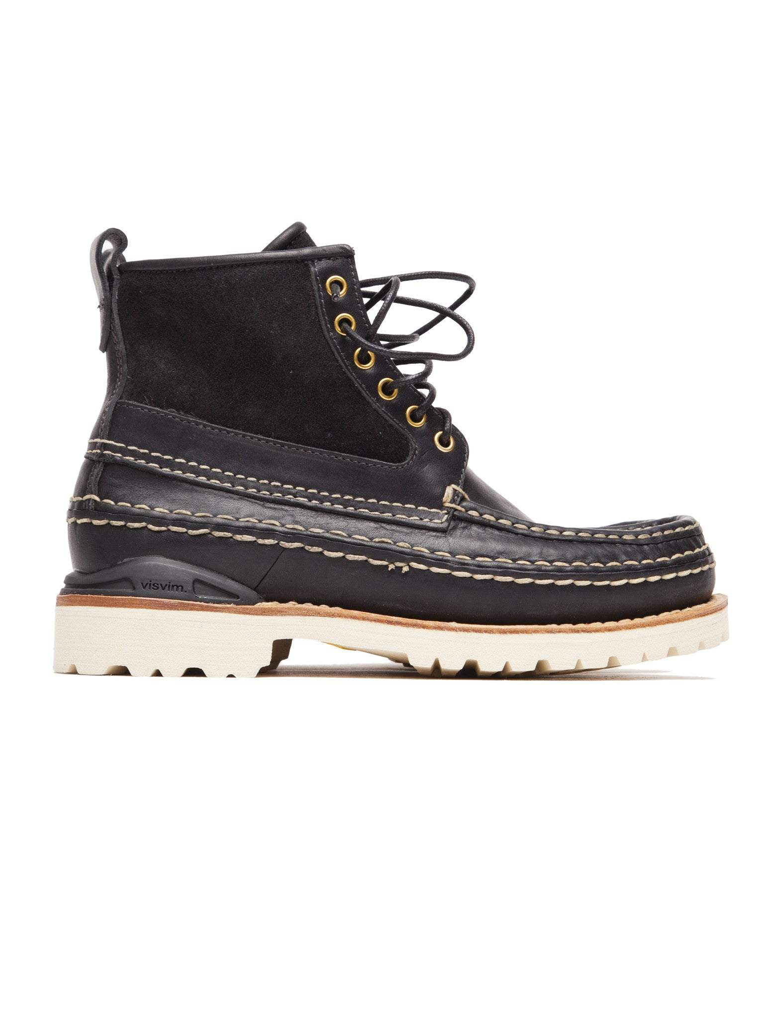 Black Grizzly Boots Mid-Folk 5