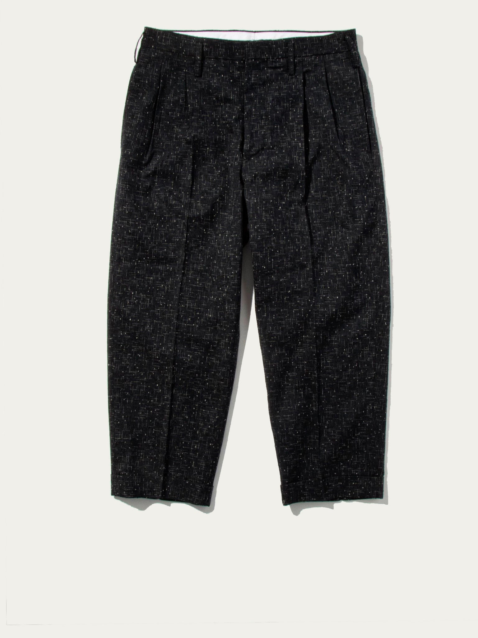 HW Pleated Wide Slacks (VNTG KNTTD)