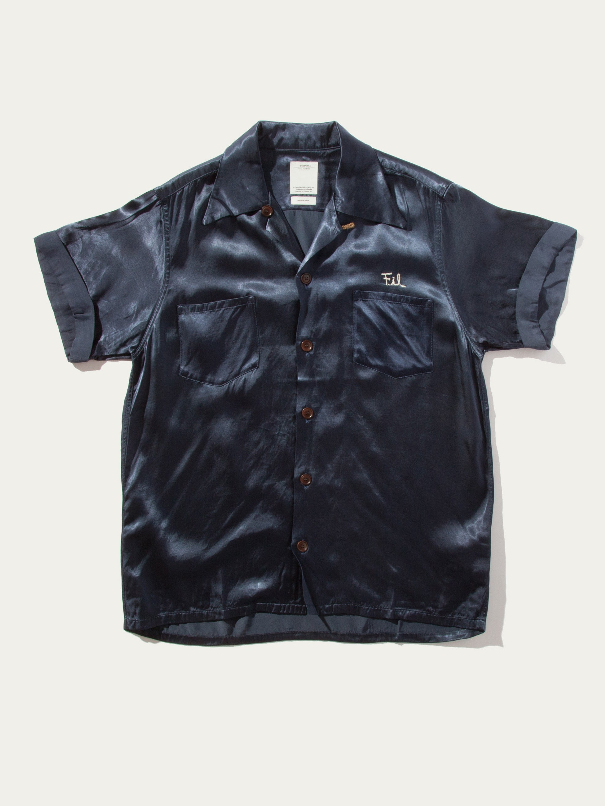 Navy Irving Shirt S/S Peerless 13
