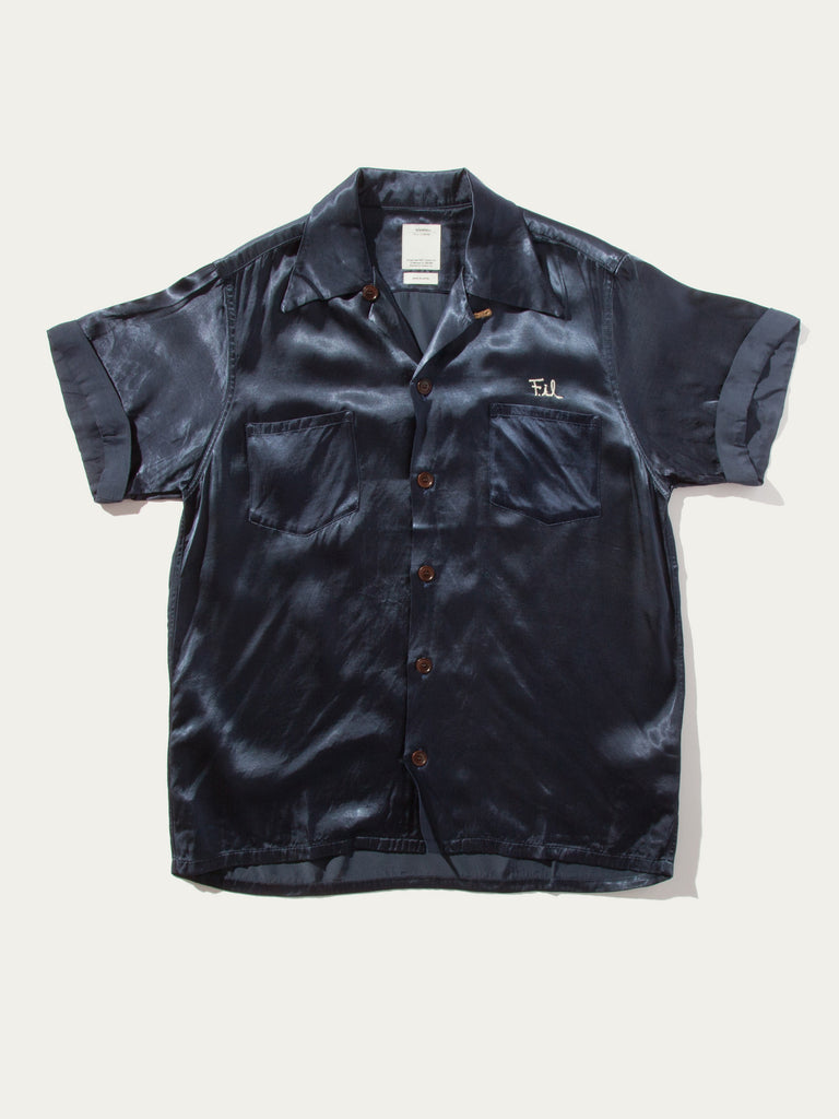 Navy Irving Shirt S/S Peerless 1320284971593