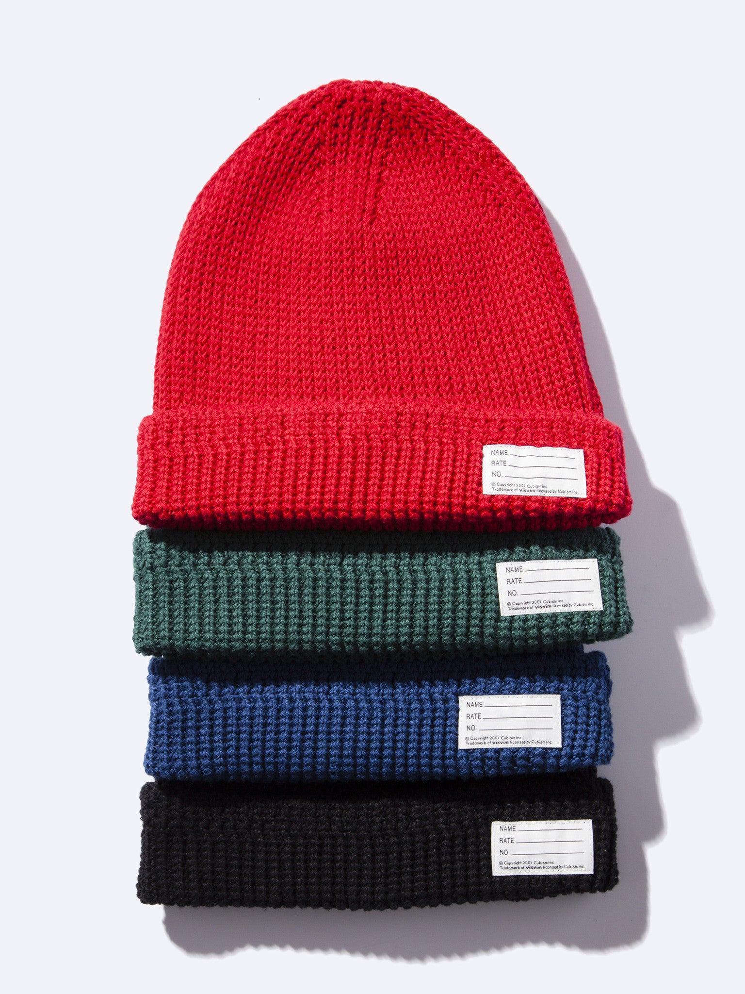 Black Knit Beanie (Cotton) 1
