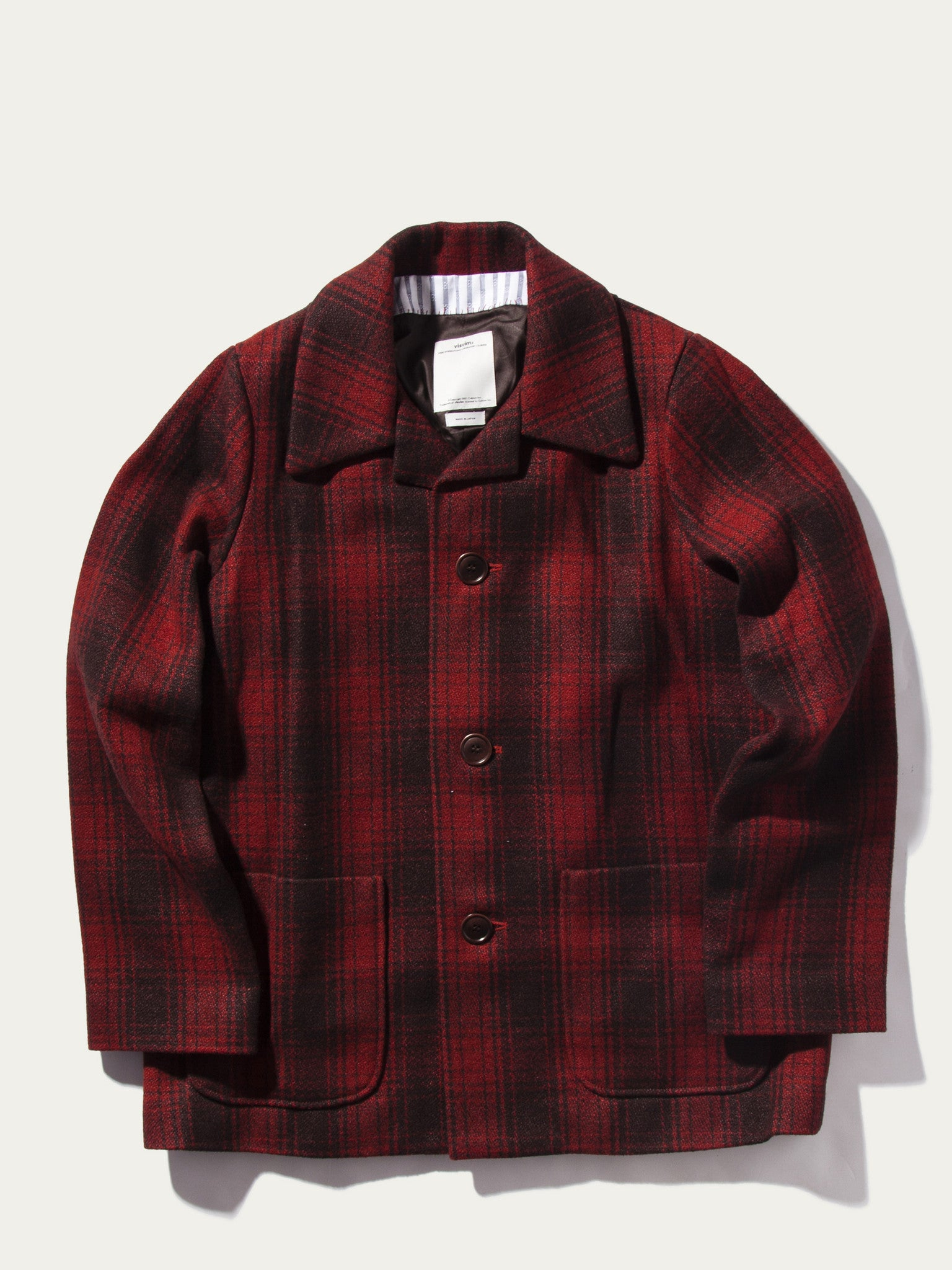 Red McKinley Jacket Buffalo Check 1