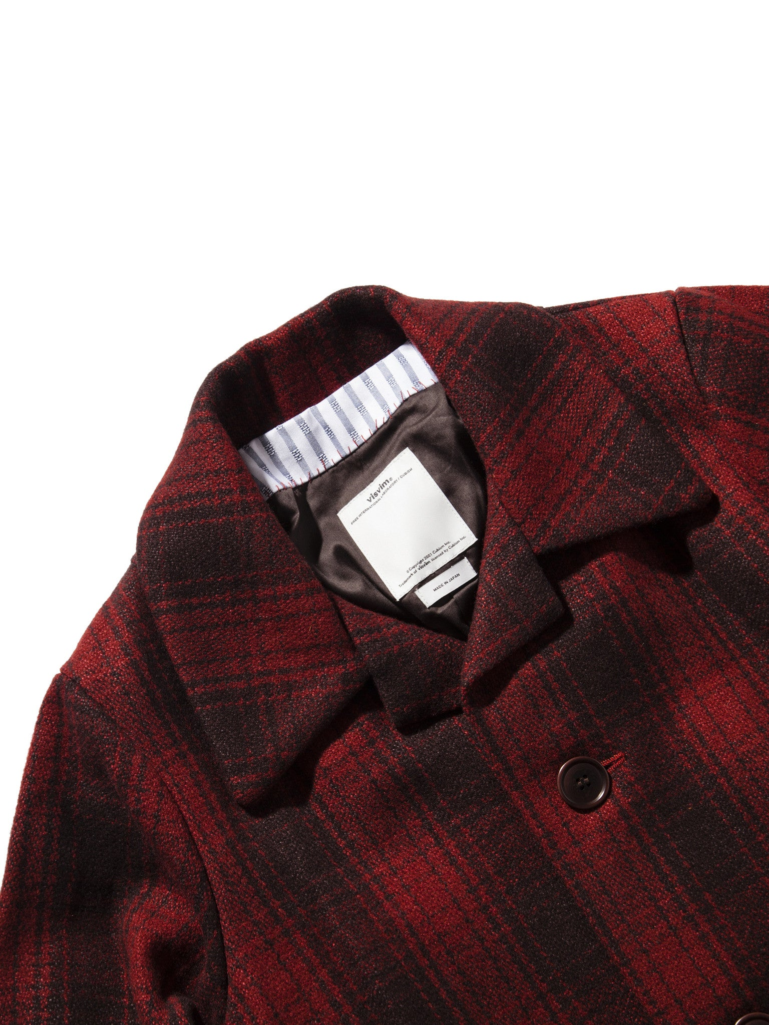 Red McKinley Jacket Buffalo Check 6