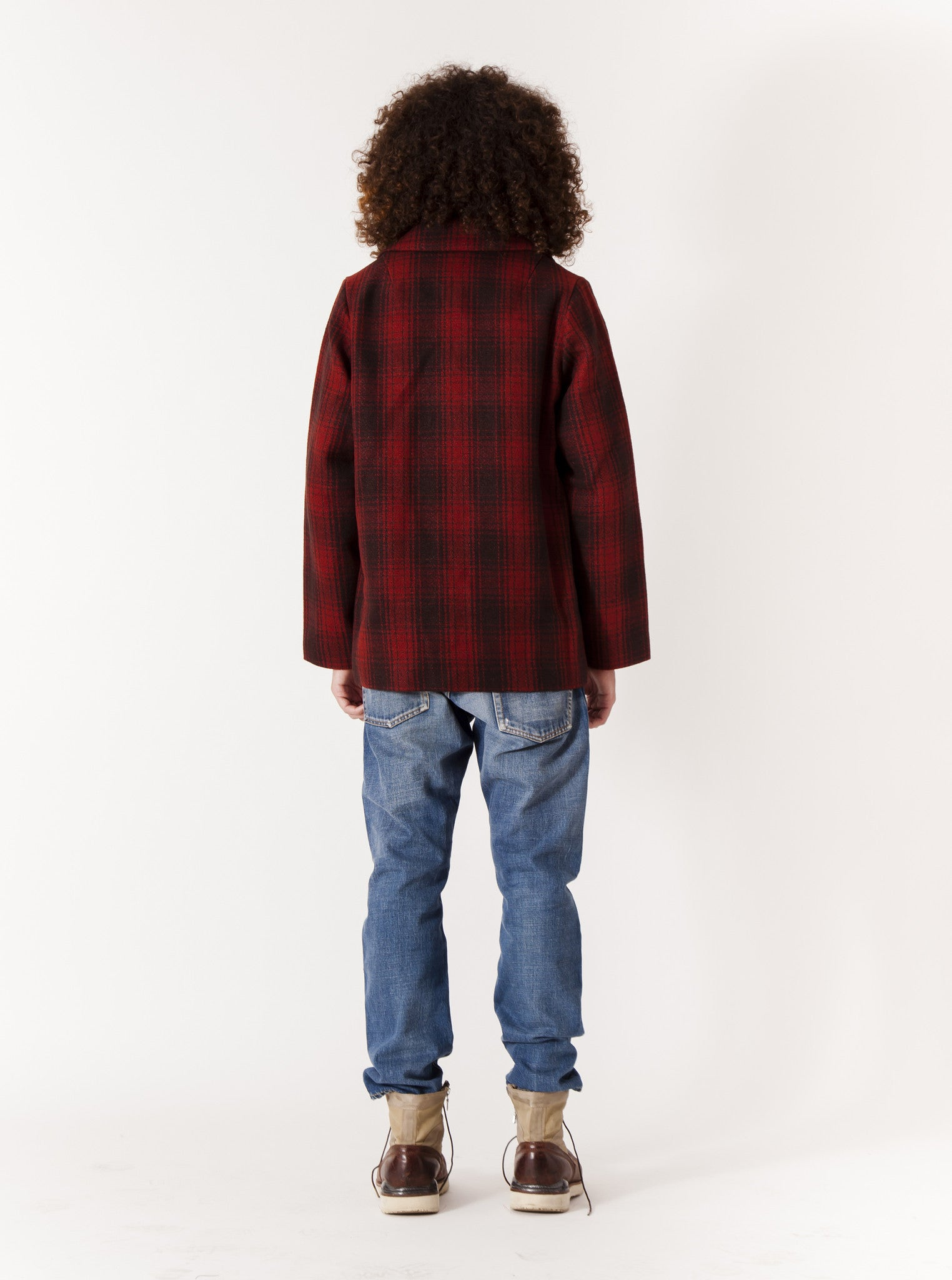 Red McKinley Jacket Buffalo Check 4