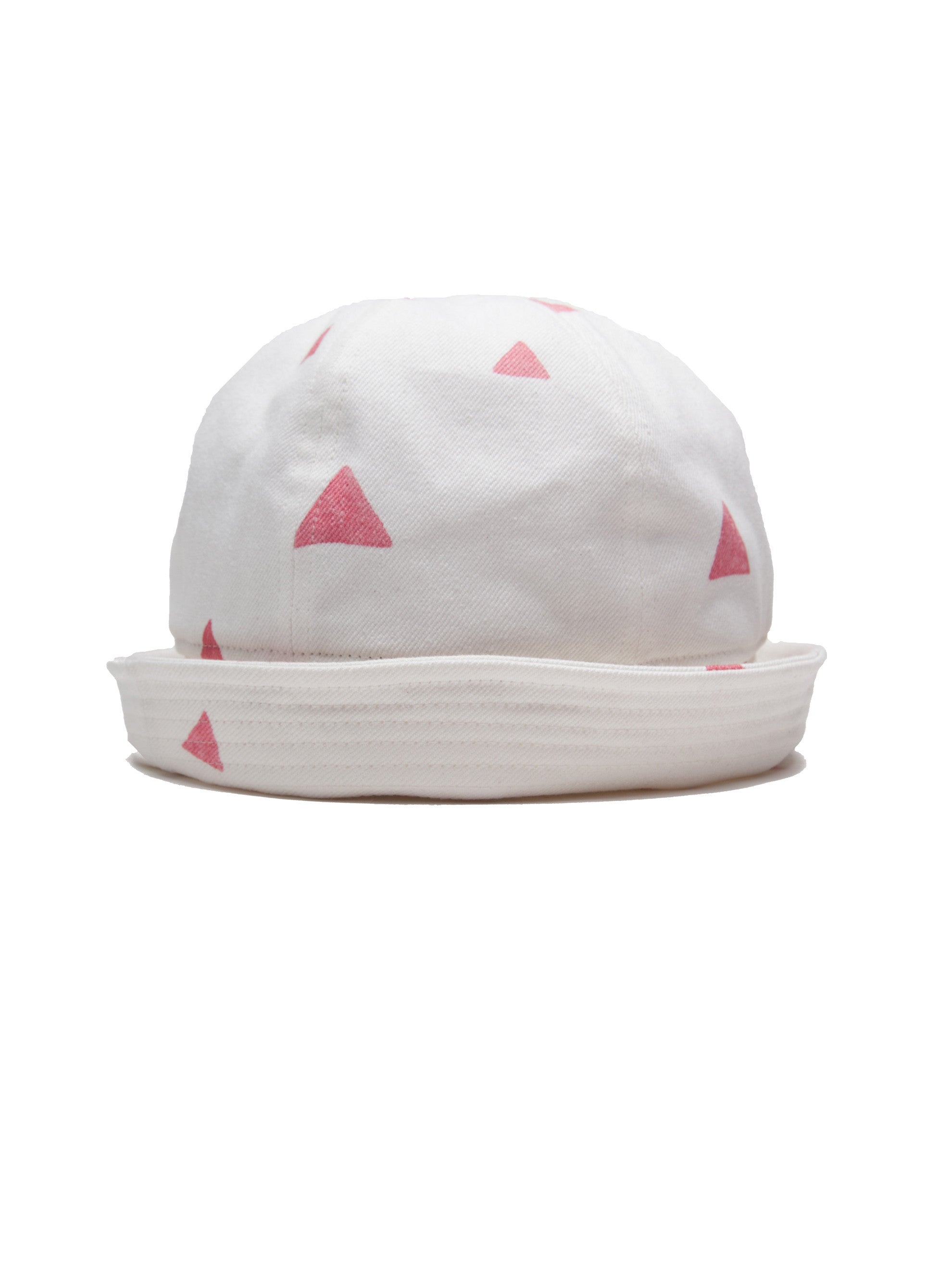 Red Sailor Hat Triangles 2