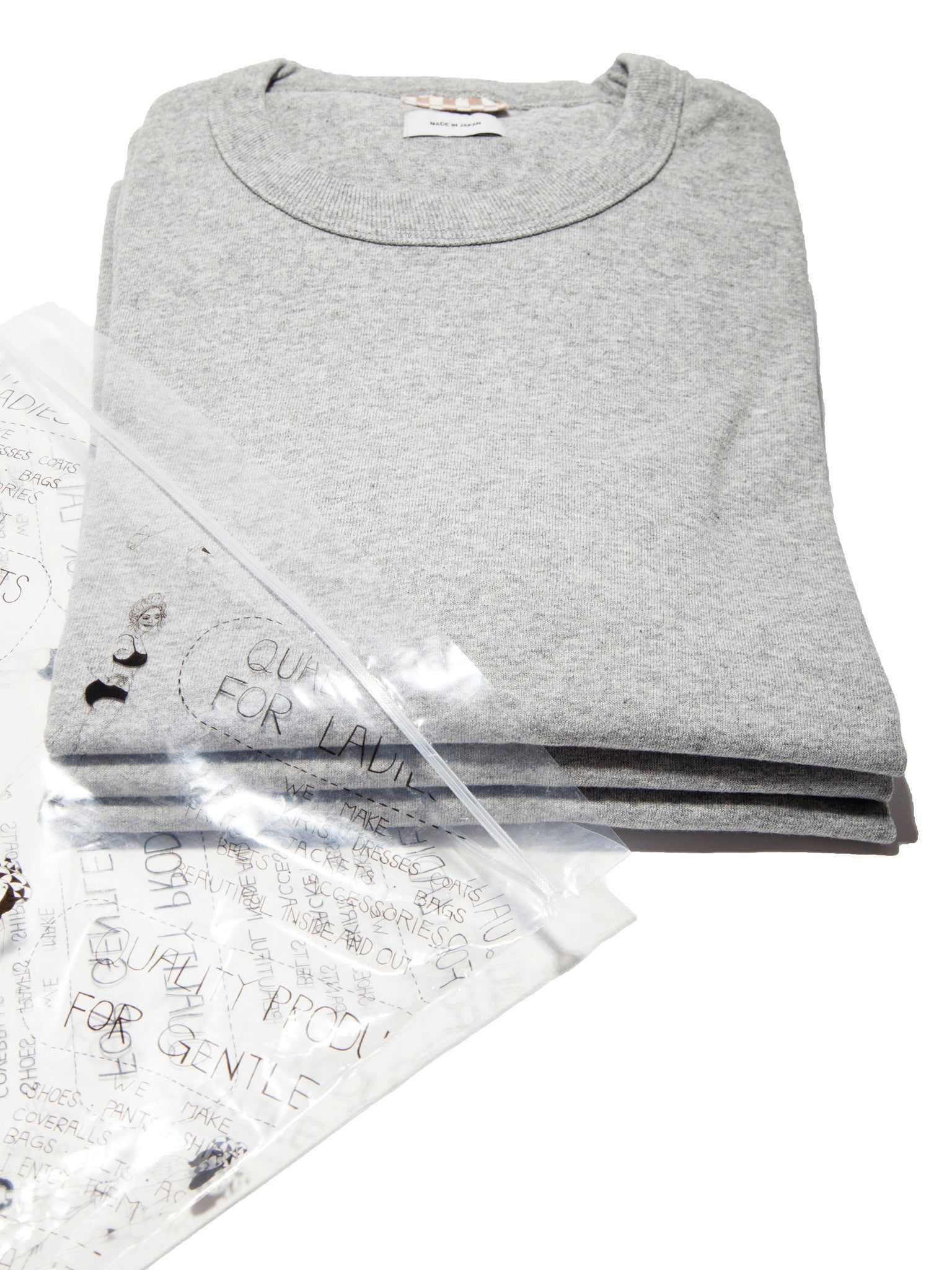 Grey Sublig Crew 3-Pack S/S (WIDE) 8