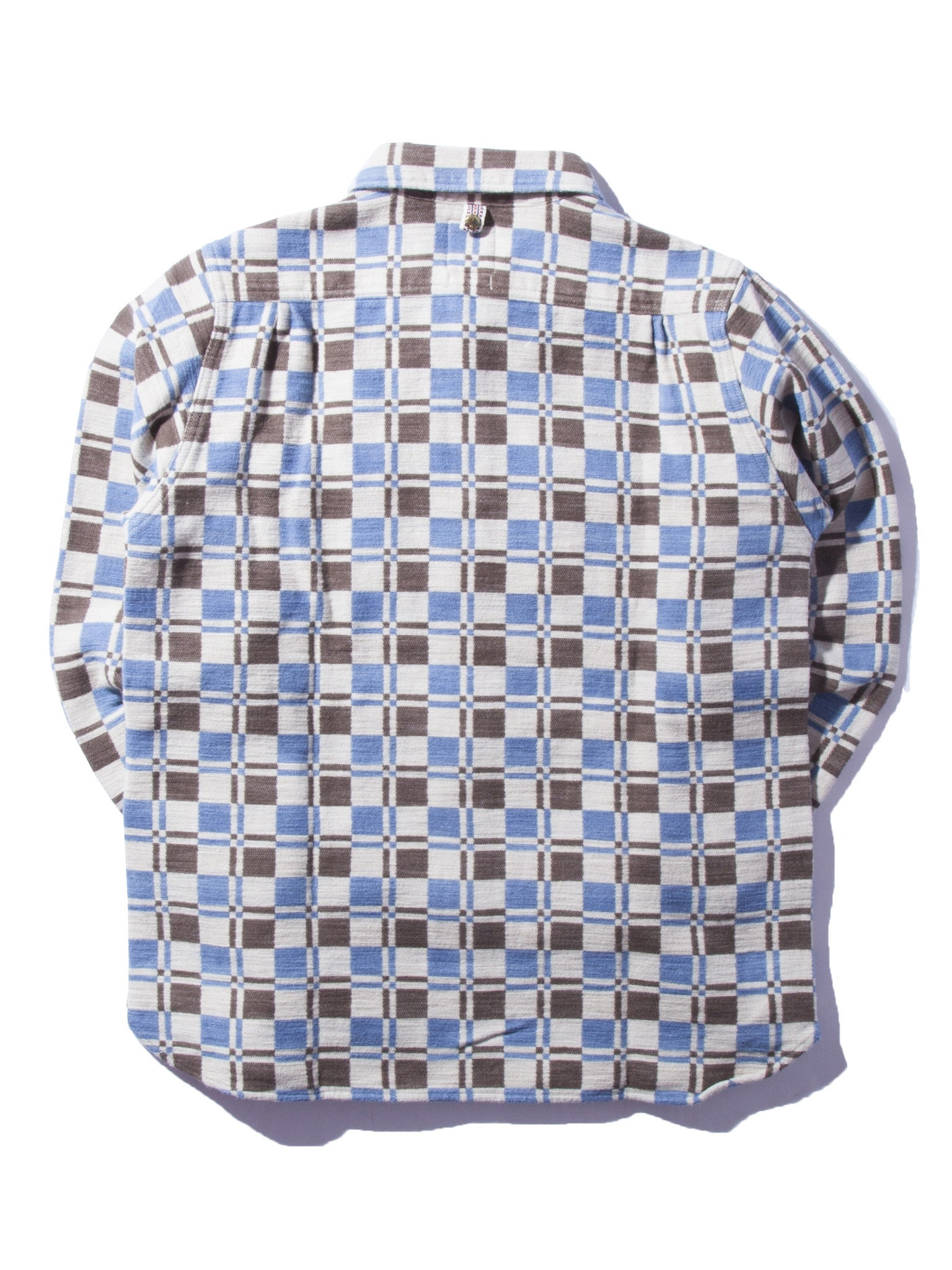 Indigo Wally Shirt (Indigo DB CK) 7