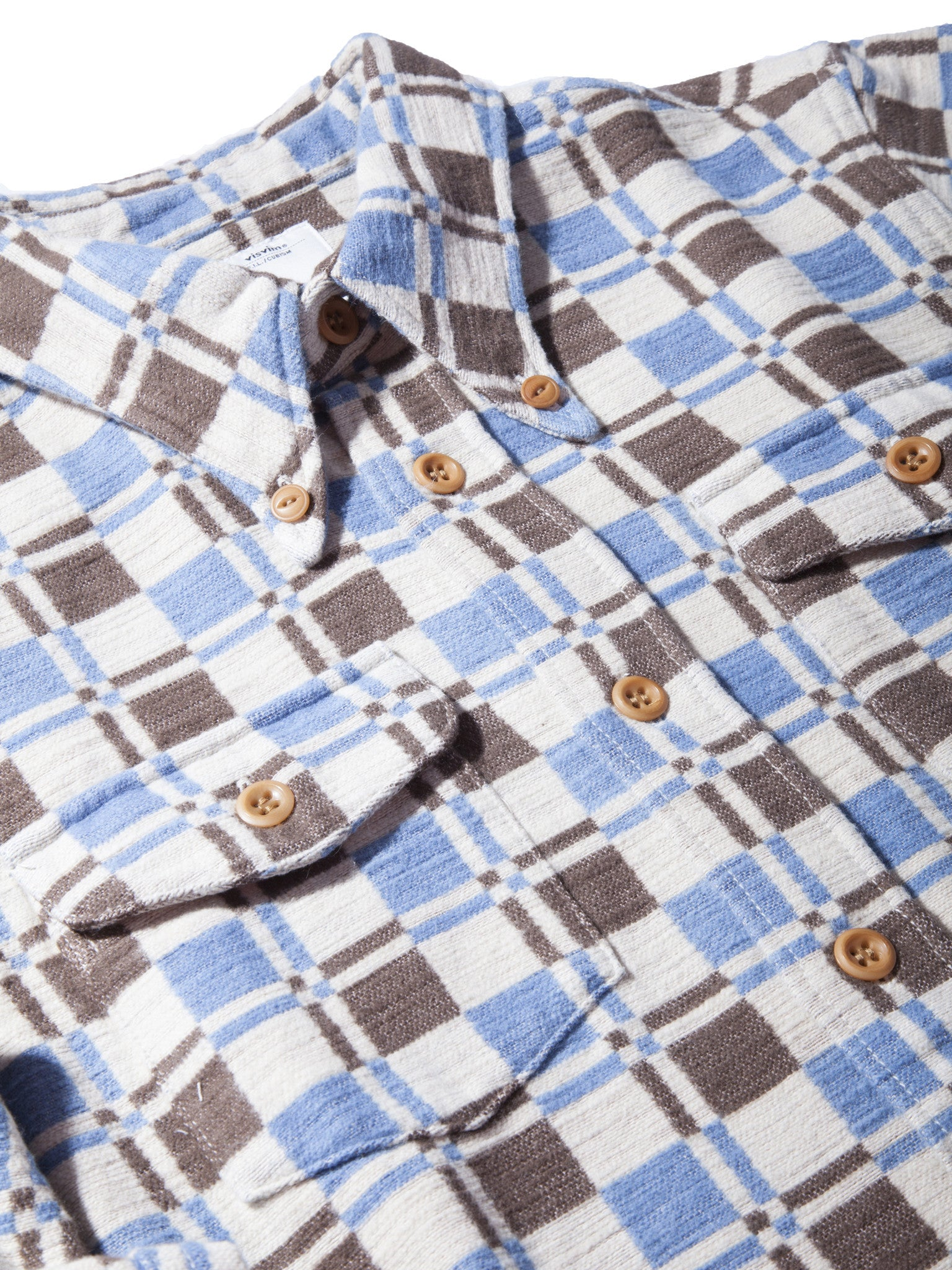 Indigo Wally Shirt (Indigo DB CK) 8