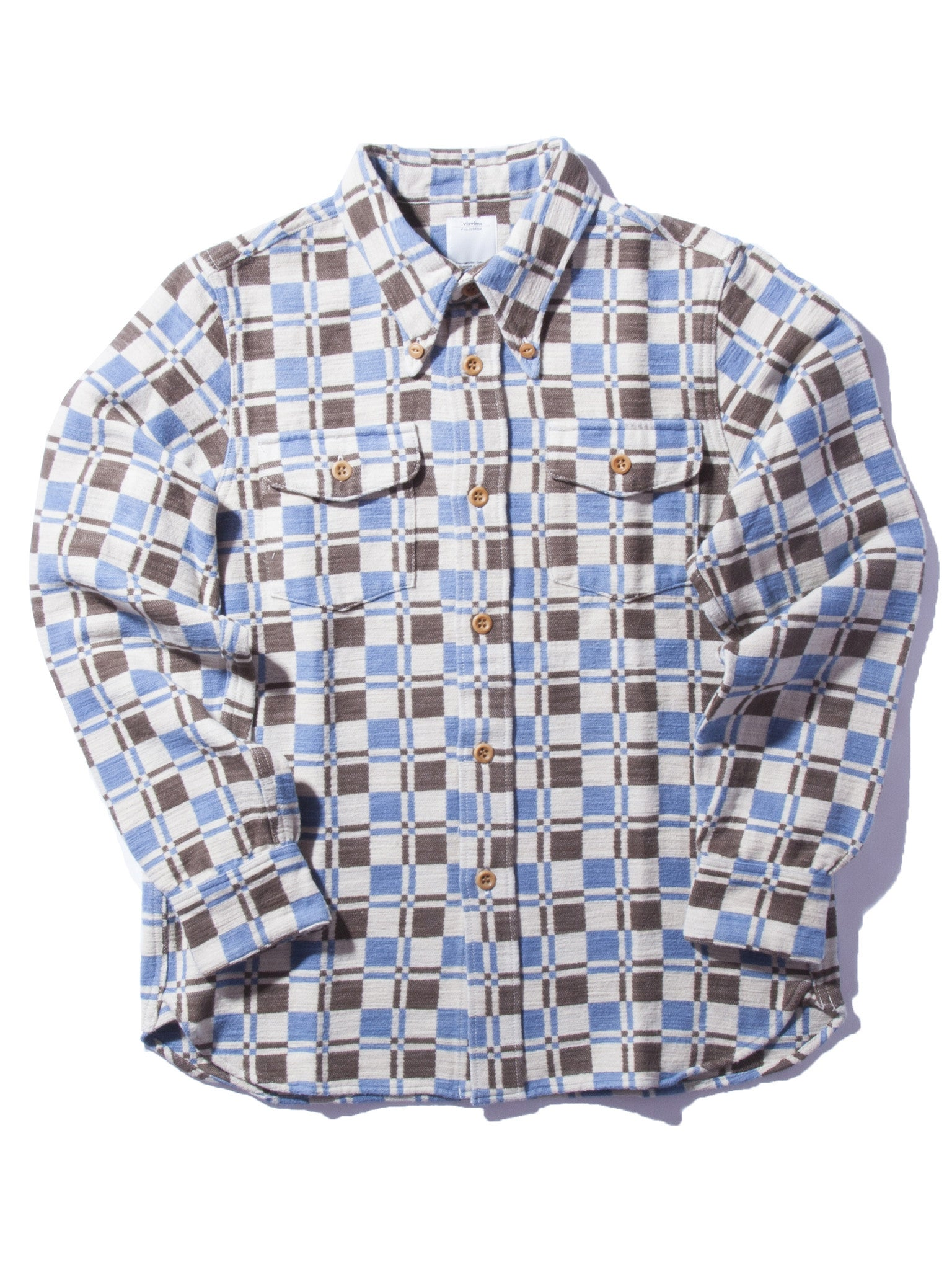 Indigo Wally Shirt (Indigo DB CK) 6