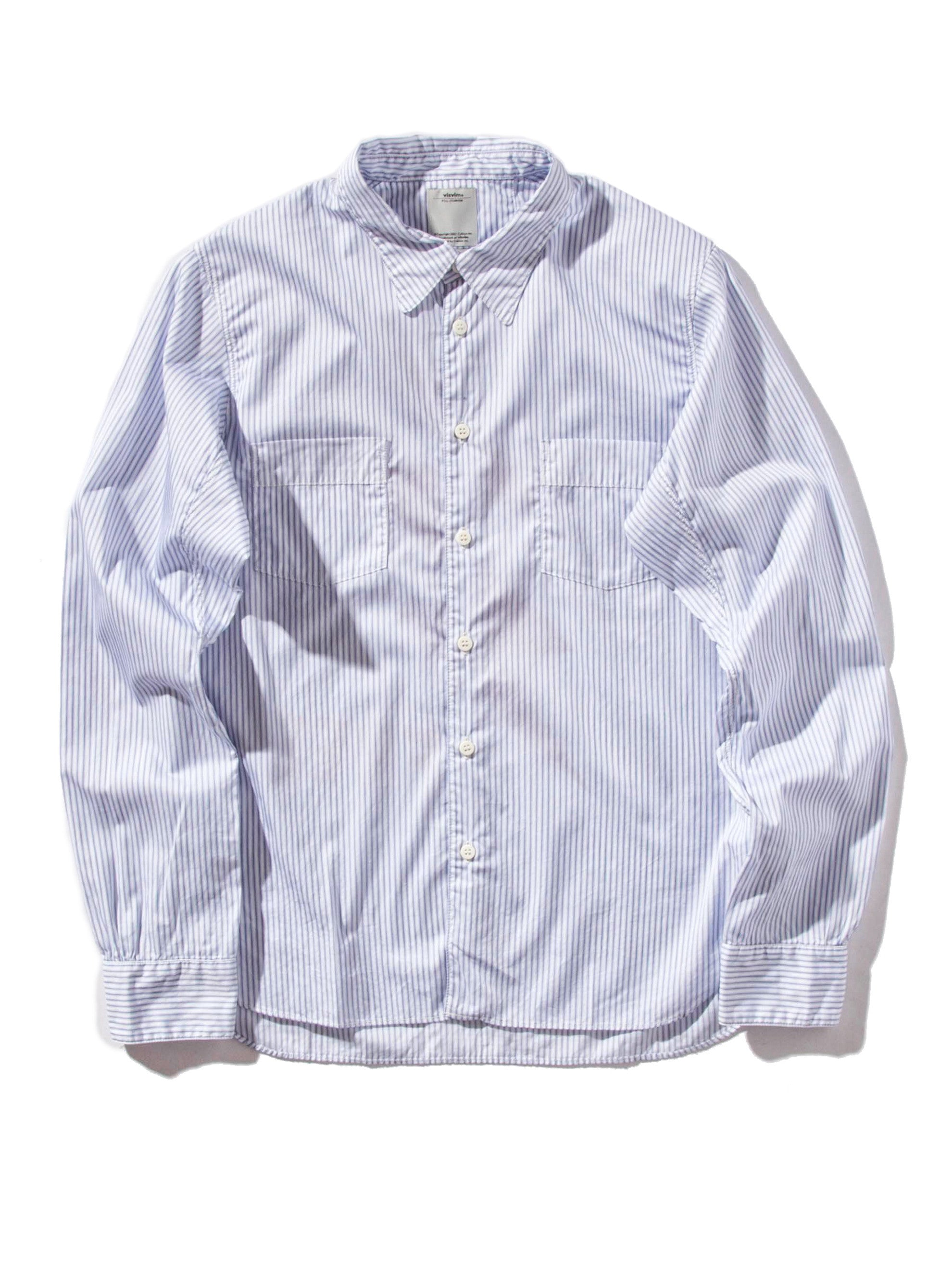 Navy Gekko Dress Shirt 7