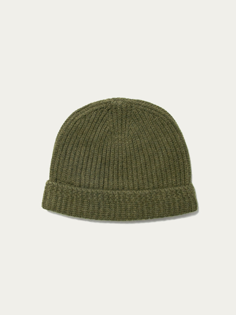 Olive Knit Beanie (Wool) 213520168353869