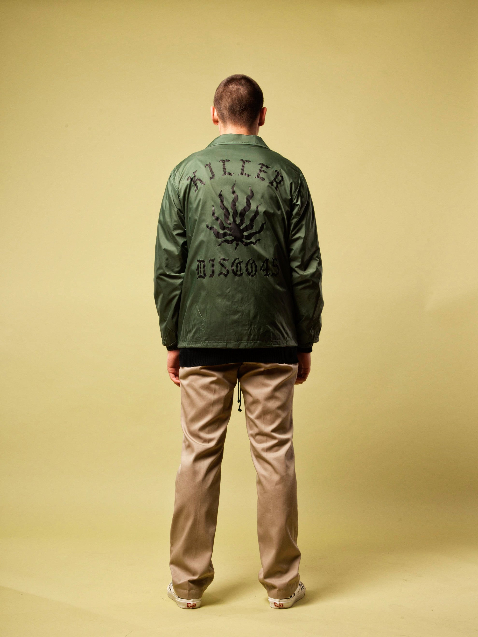 Green Coach Jacket 5