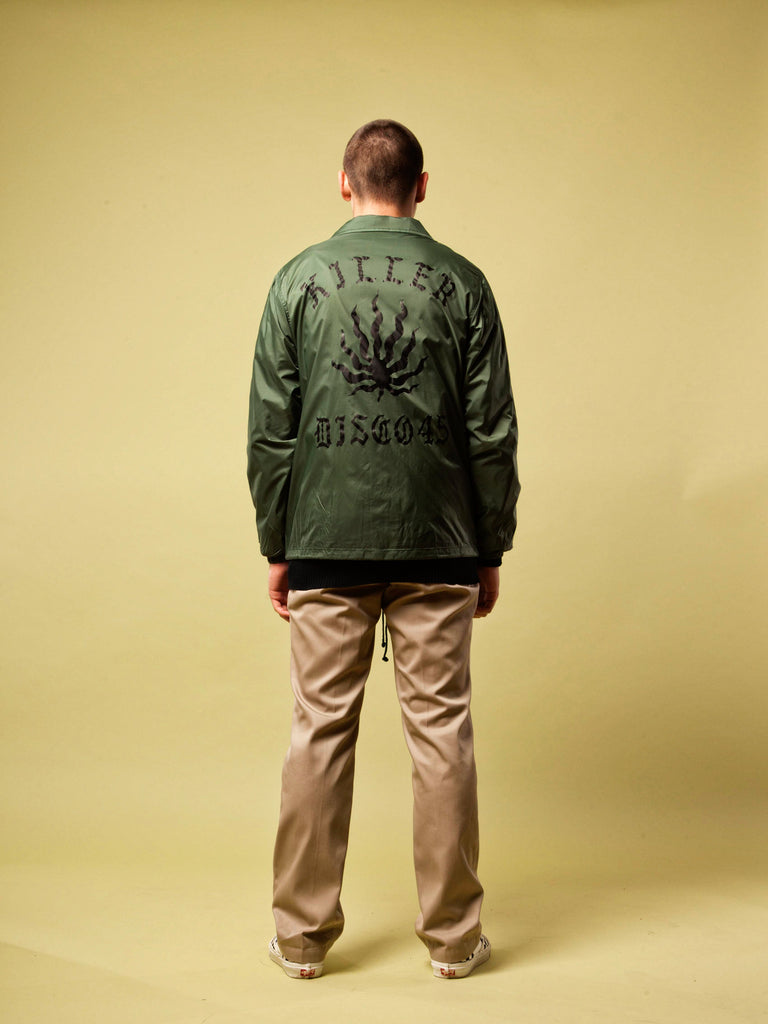 Green Coach Jacket 520474174537
