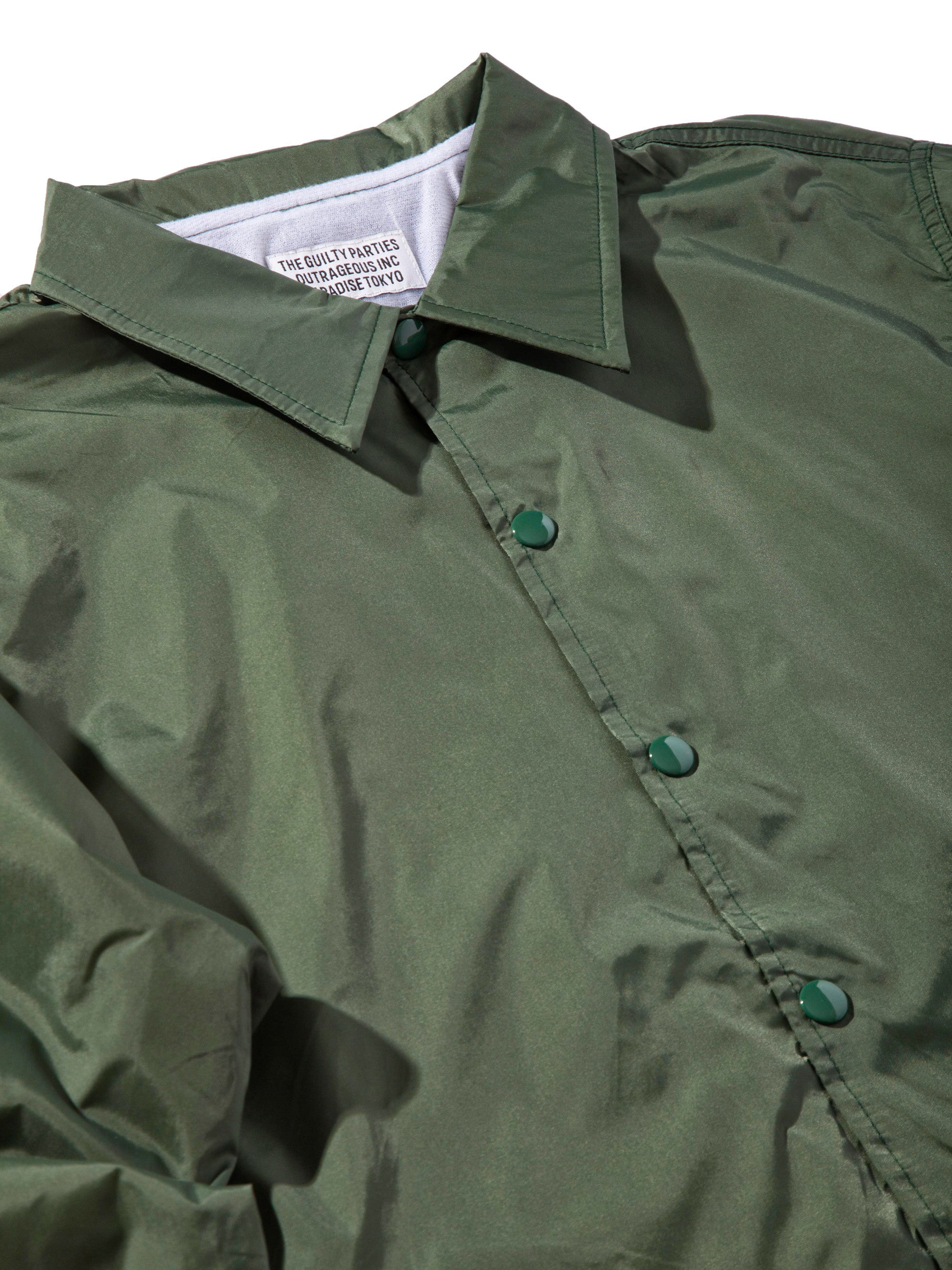 Green Coach Jacket 7