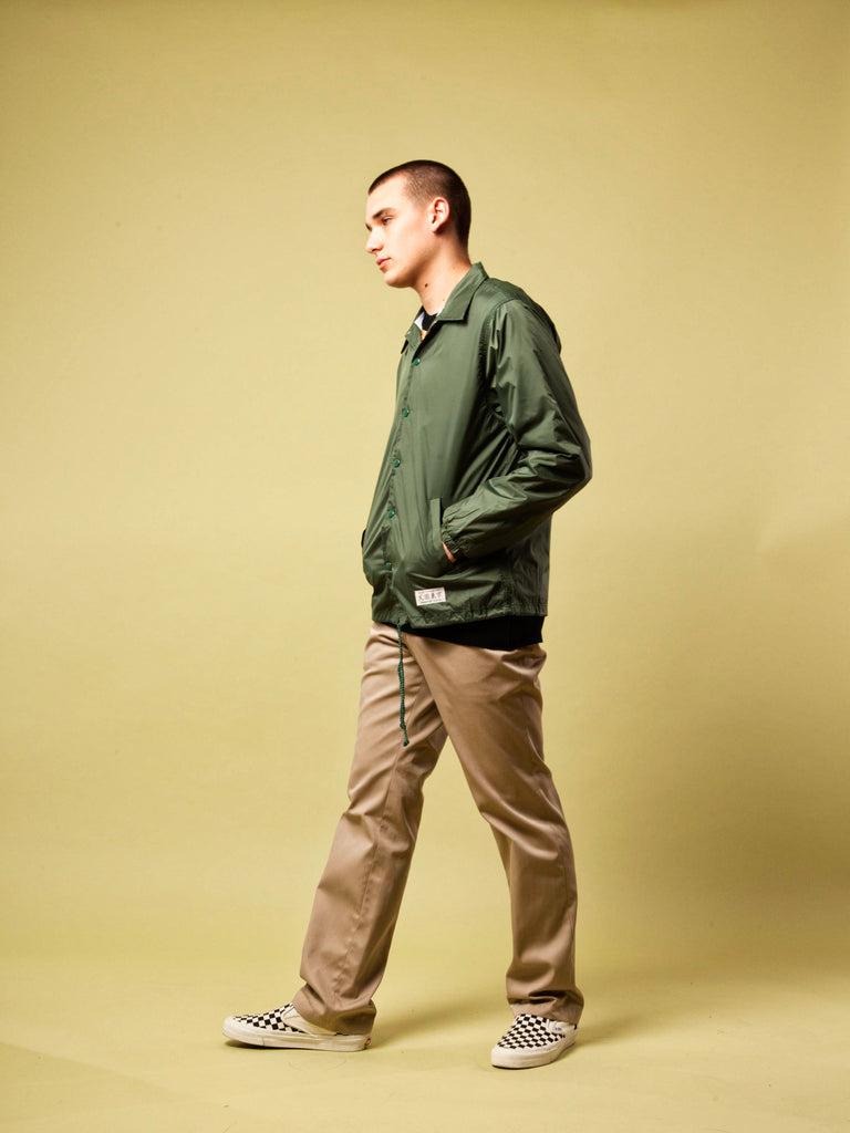 Green Coach Jacket 420474173833
