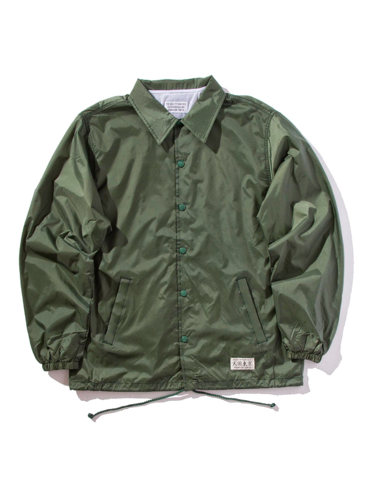 Green Coach Jacket 620474176073