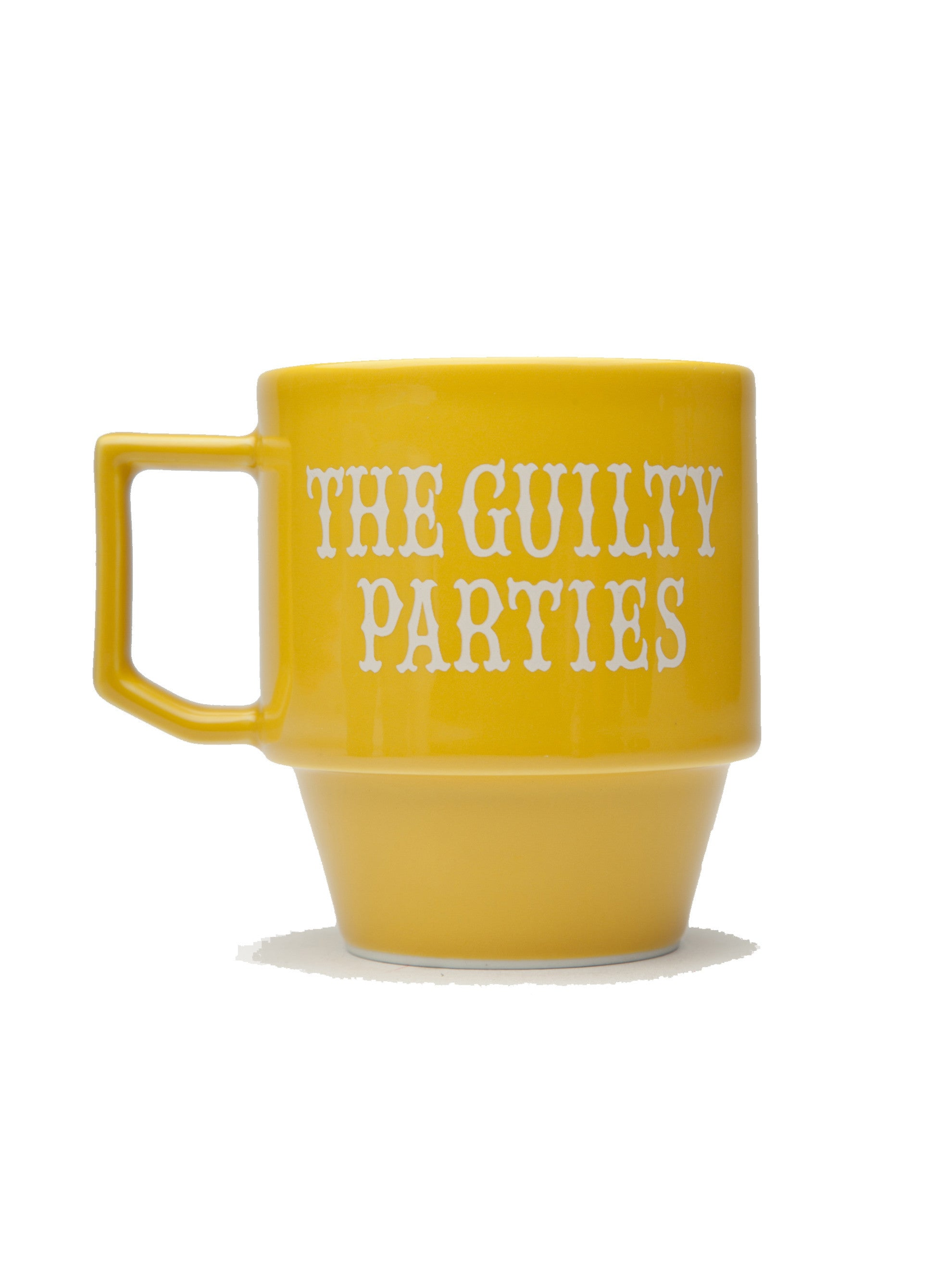 Yellow Guilty Parties Mug 6