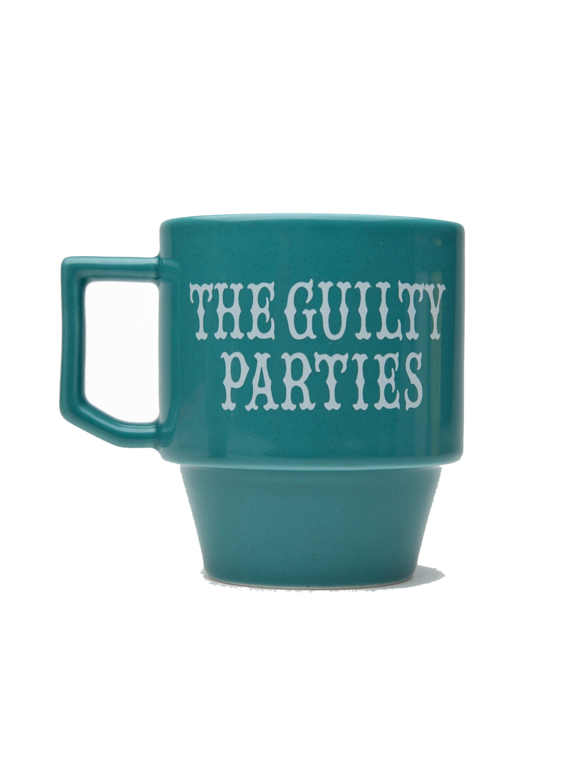 Green Guilty Parties Mug 2