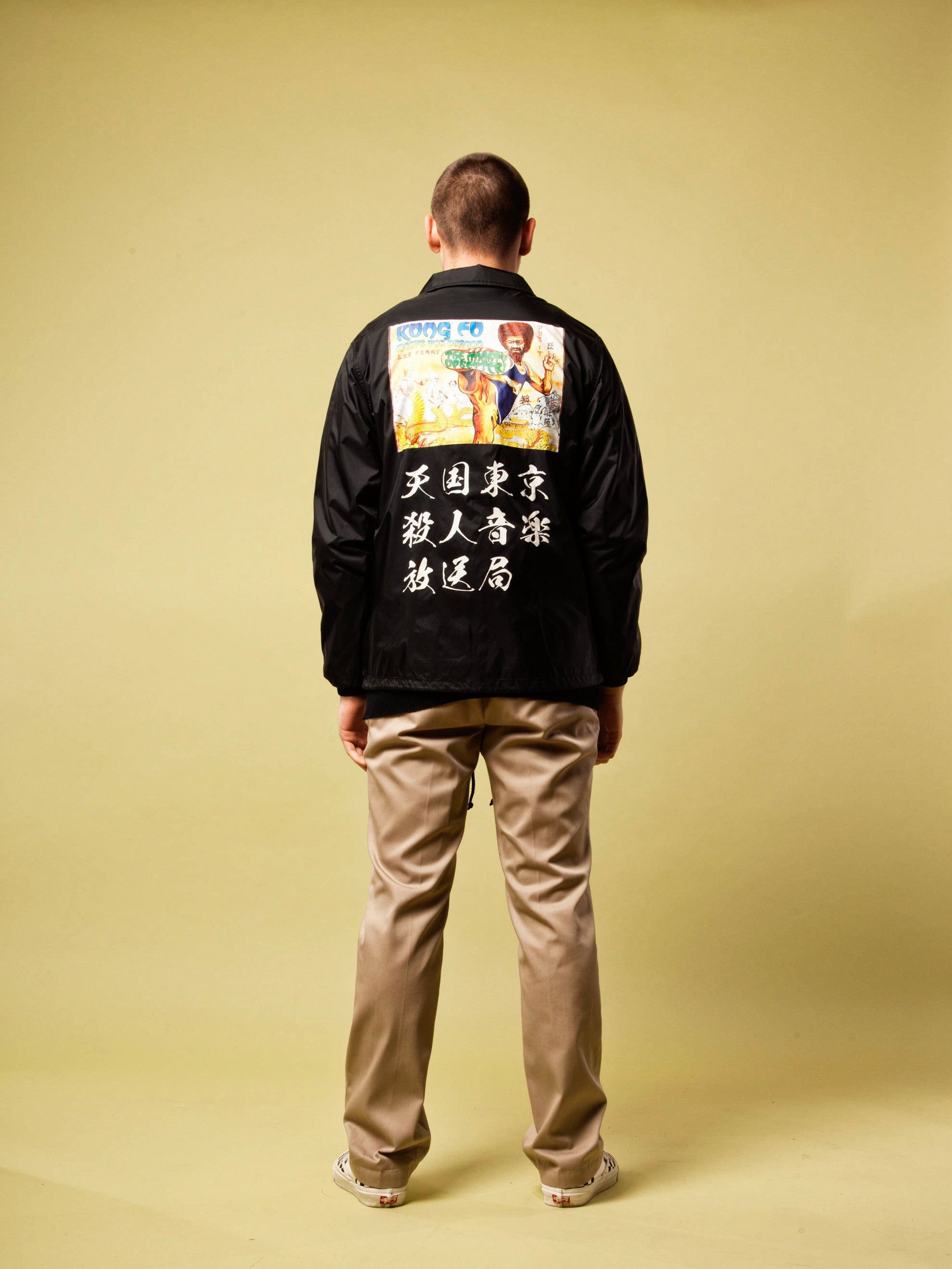 Black Lee Perry Coach Jacket 5