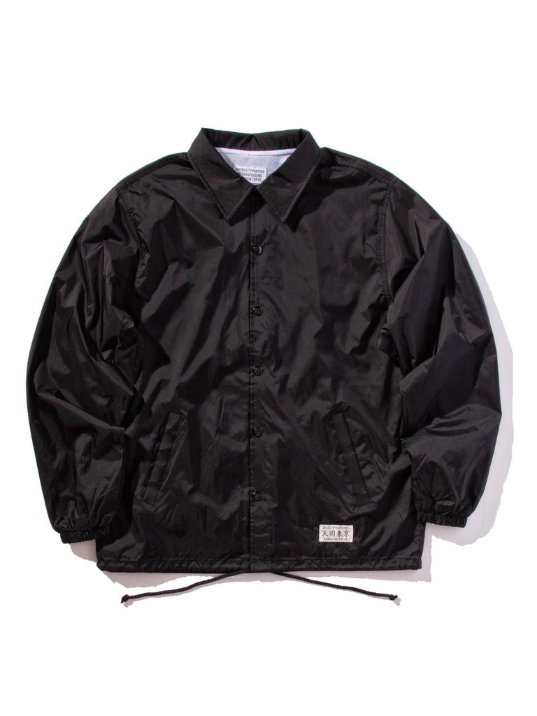 Black Lee Perry Coach Jacket 620474174665