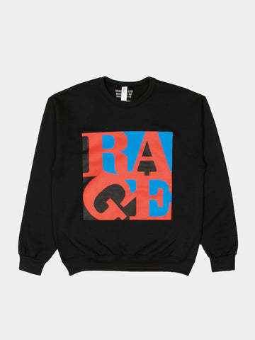Rage Against The Machine / Crewneck Sweatshirt (Type-5)
