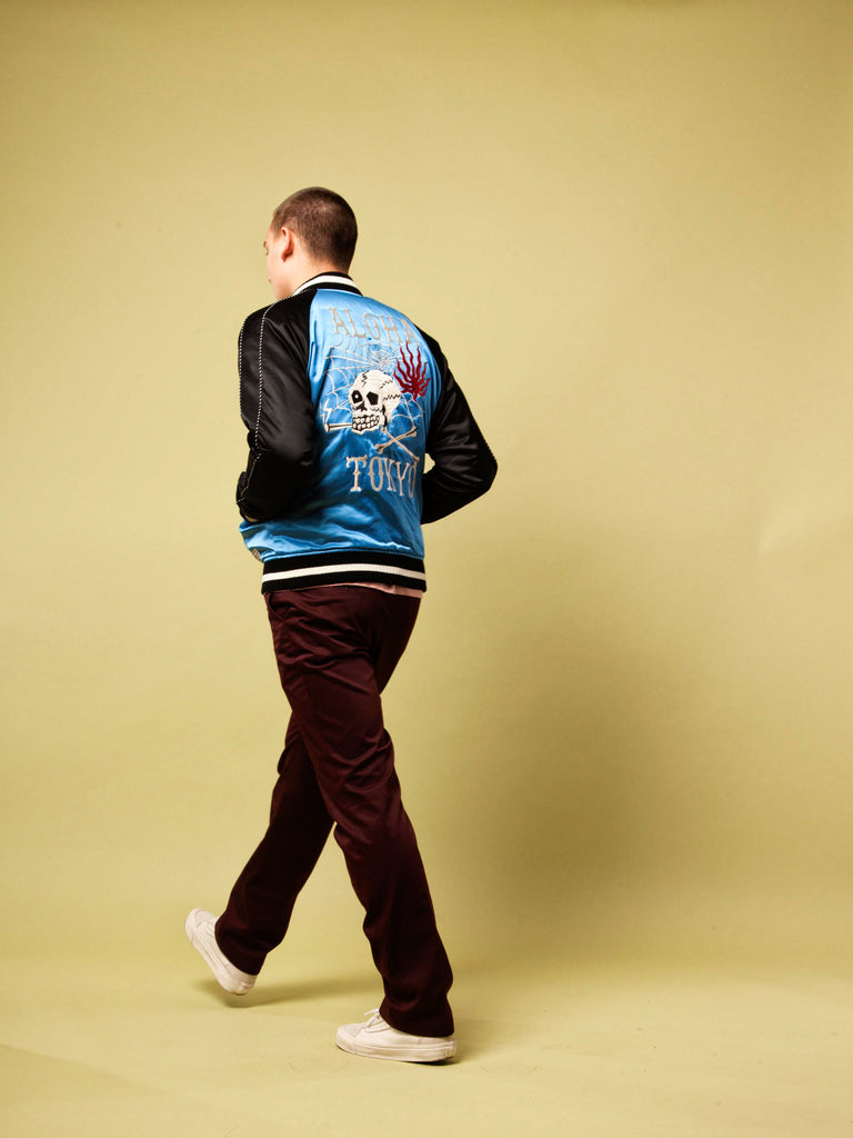 Blue/Black Souvenior Jacket 420474289673