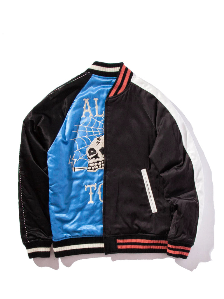 Blue/Black Souvenior Jacket 1320474281289