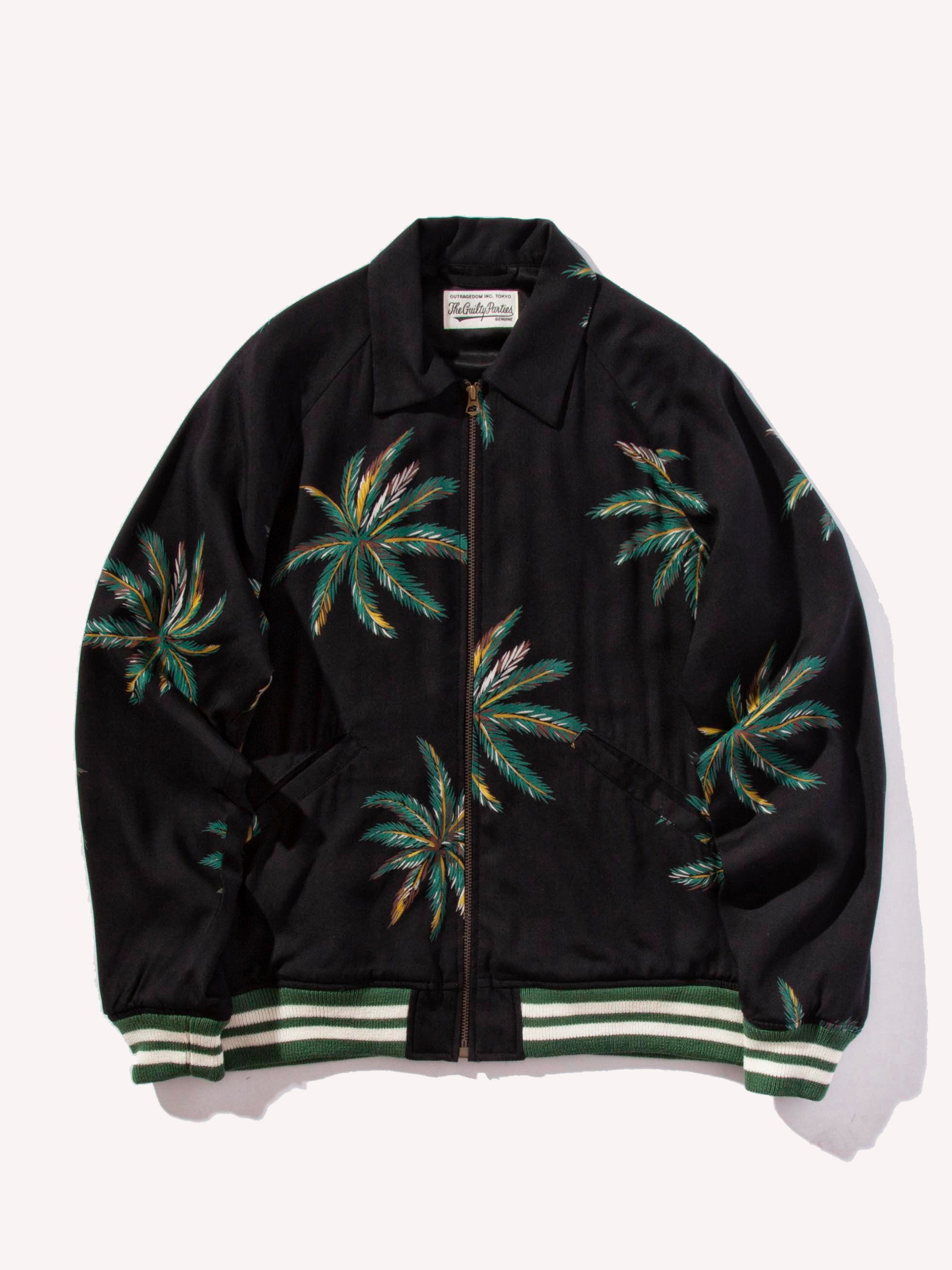 Black Sports Jacket (Palms) 1