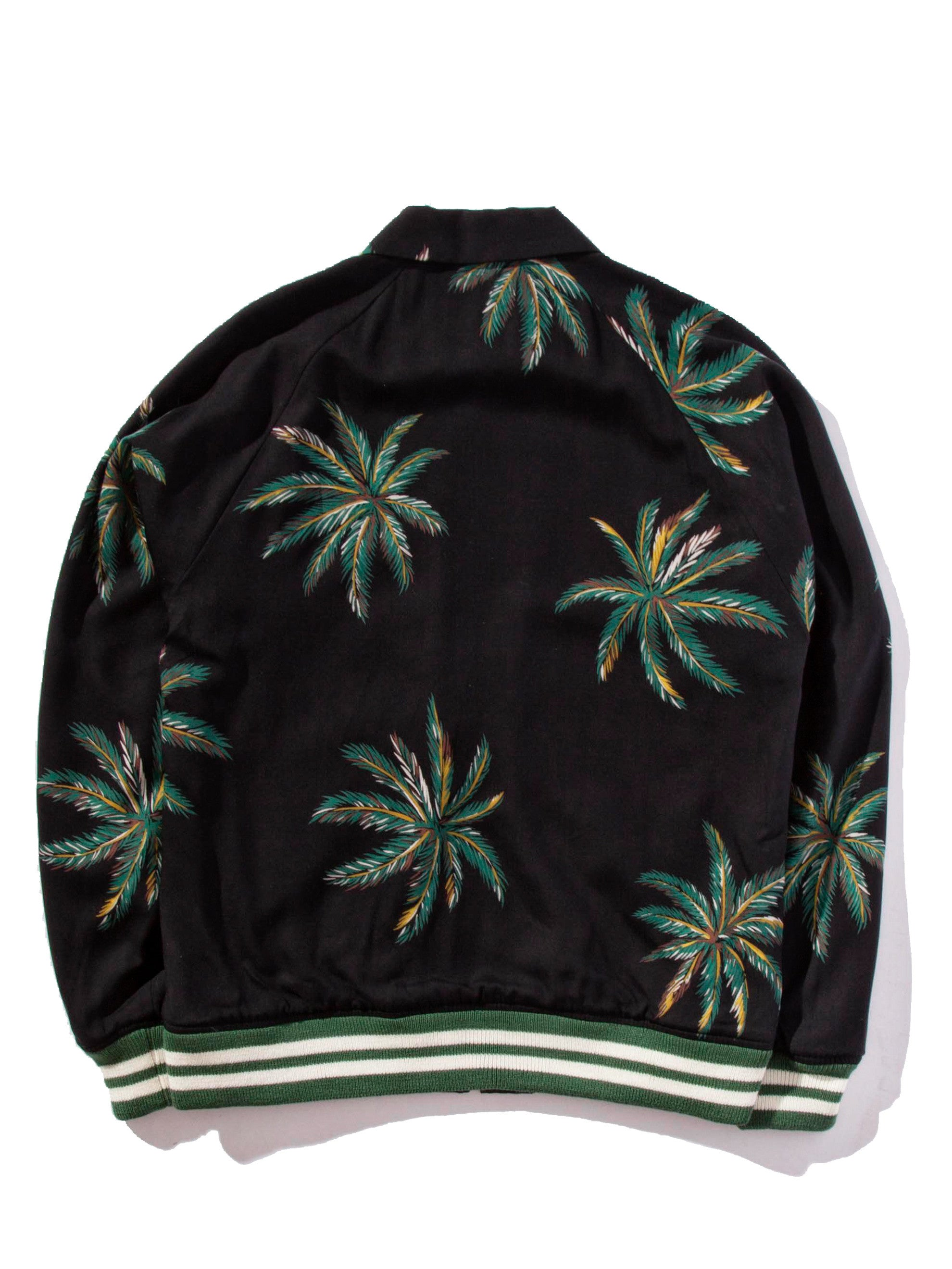 Black Sports Jacket (Palms) 7