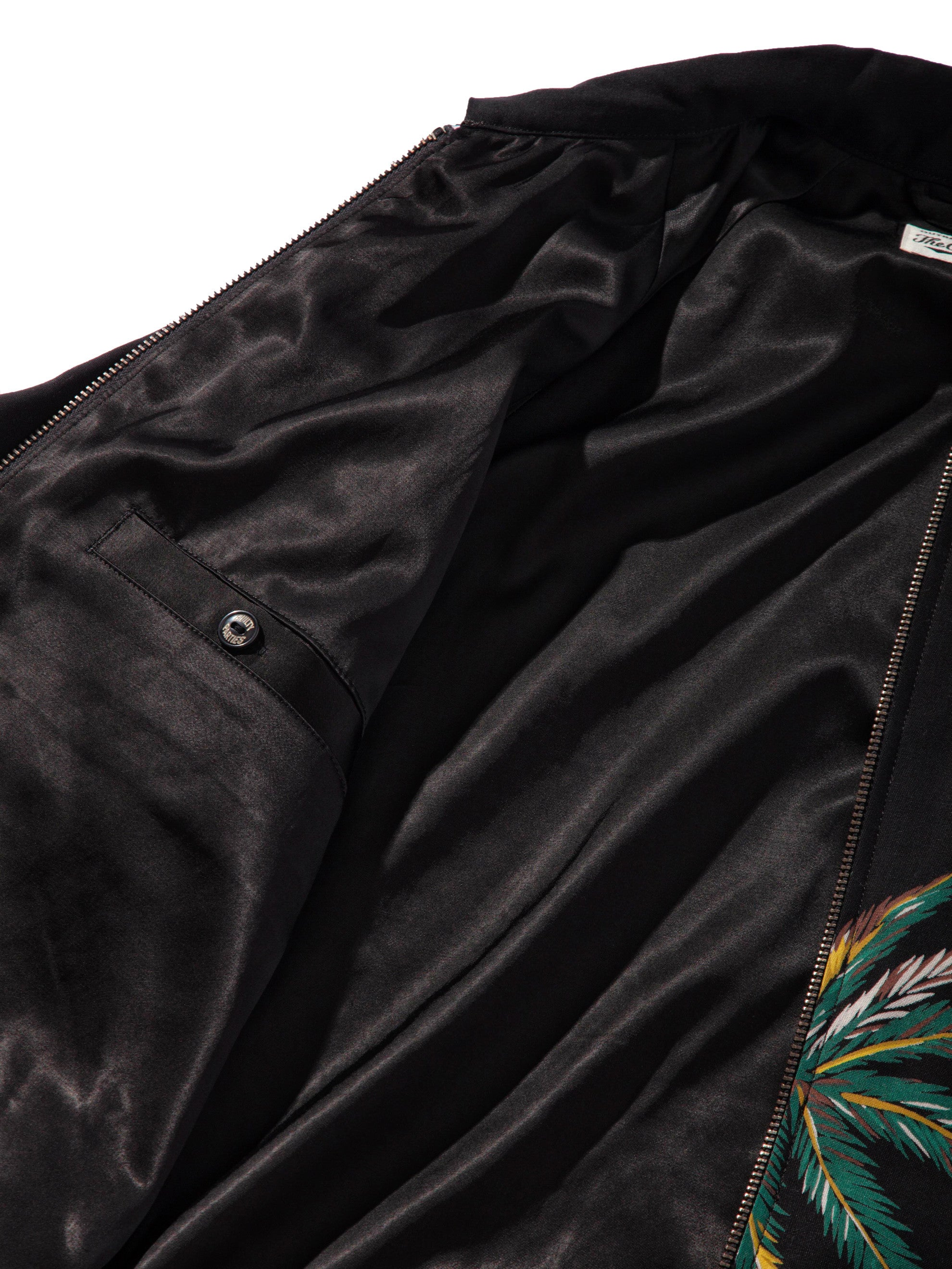Black Sports Jacket (Palms) 9